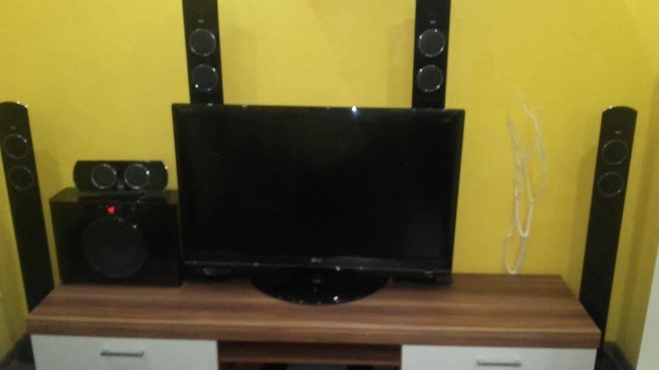 Sprzedam telewizor LG+kino domowe WATSON 5+1