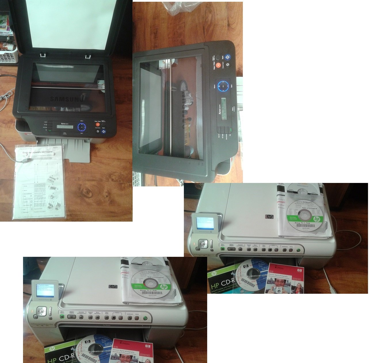 Sprzedam urządzenia wielofunkcyjne 3w1 samsung sl-m2070/hp smart photo c-5280