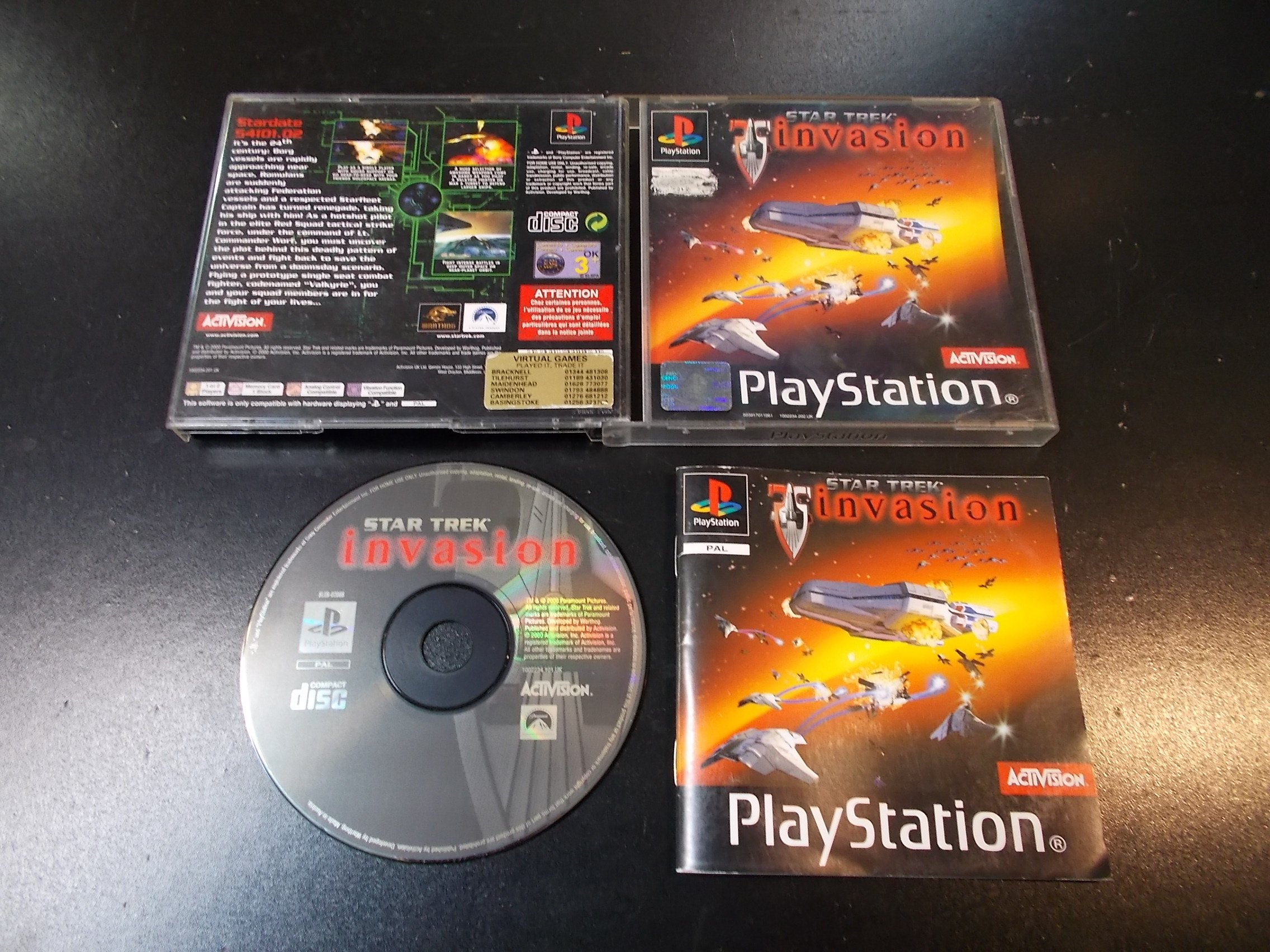 Star Trek Invasion - GRA Psx Ps1 Sklep