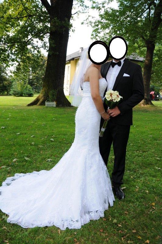 Suknia ślubna syrena OKAZJA