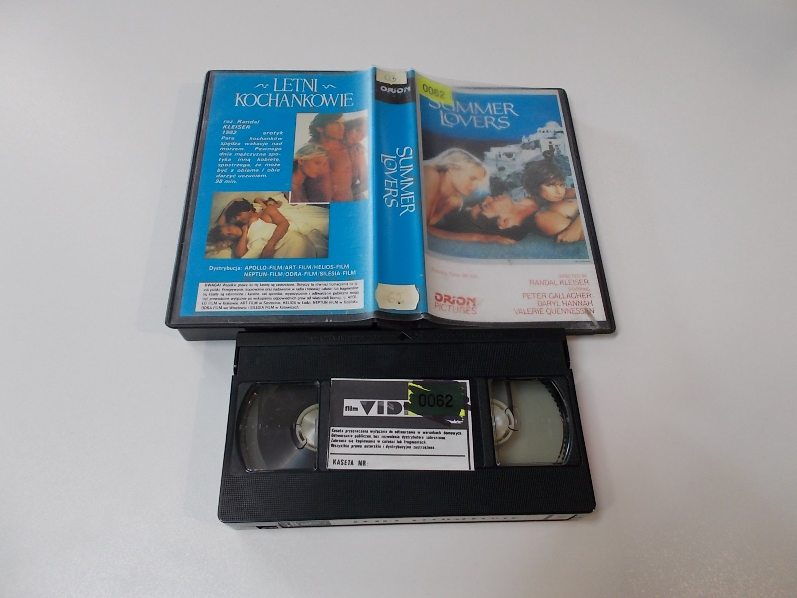 Summer Lovers - VHS Kaseta Video - Opole 1664