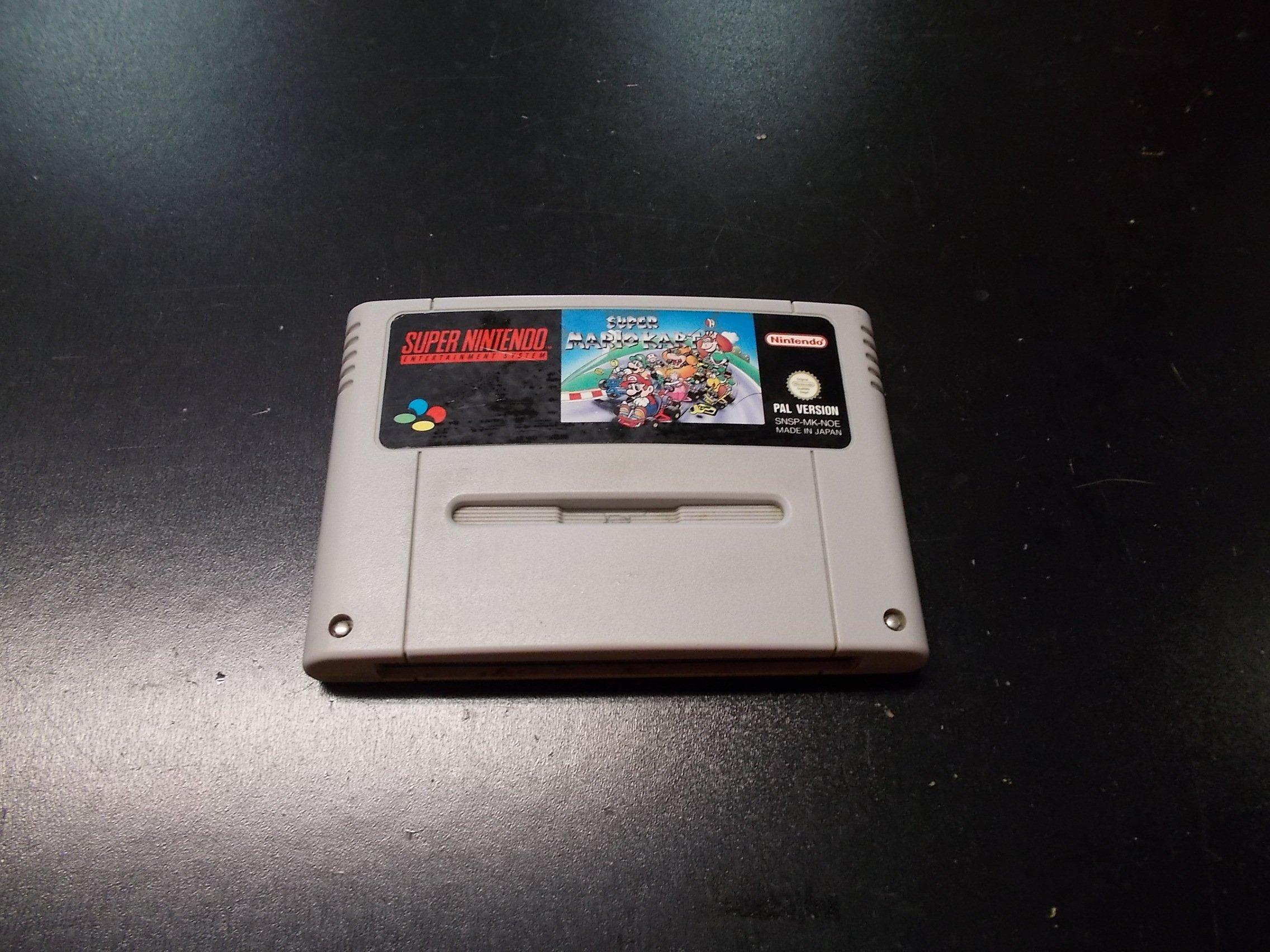 Super Mario Kart - GRA SUPER NINTENDO SNES Sklep