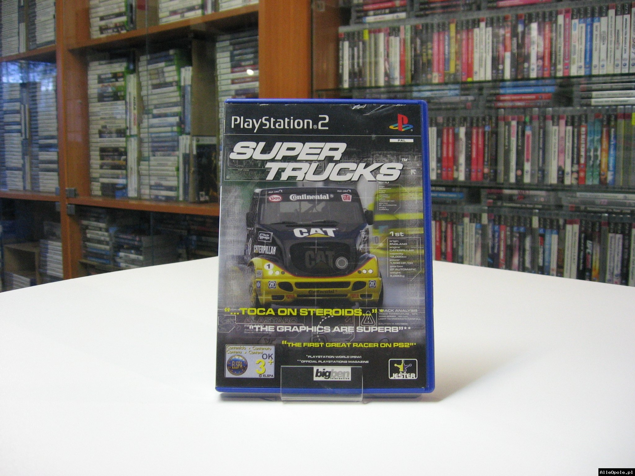 Super Trucks - GRA Ps2 - Opole 0582