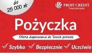 Szybka pożyczka nawet do 25 000 zł