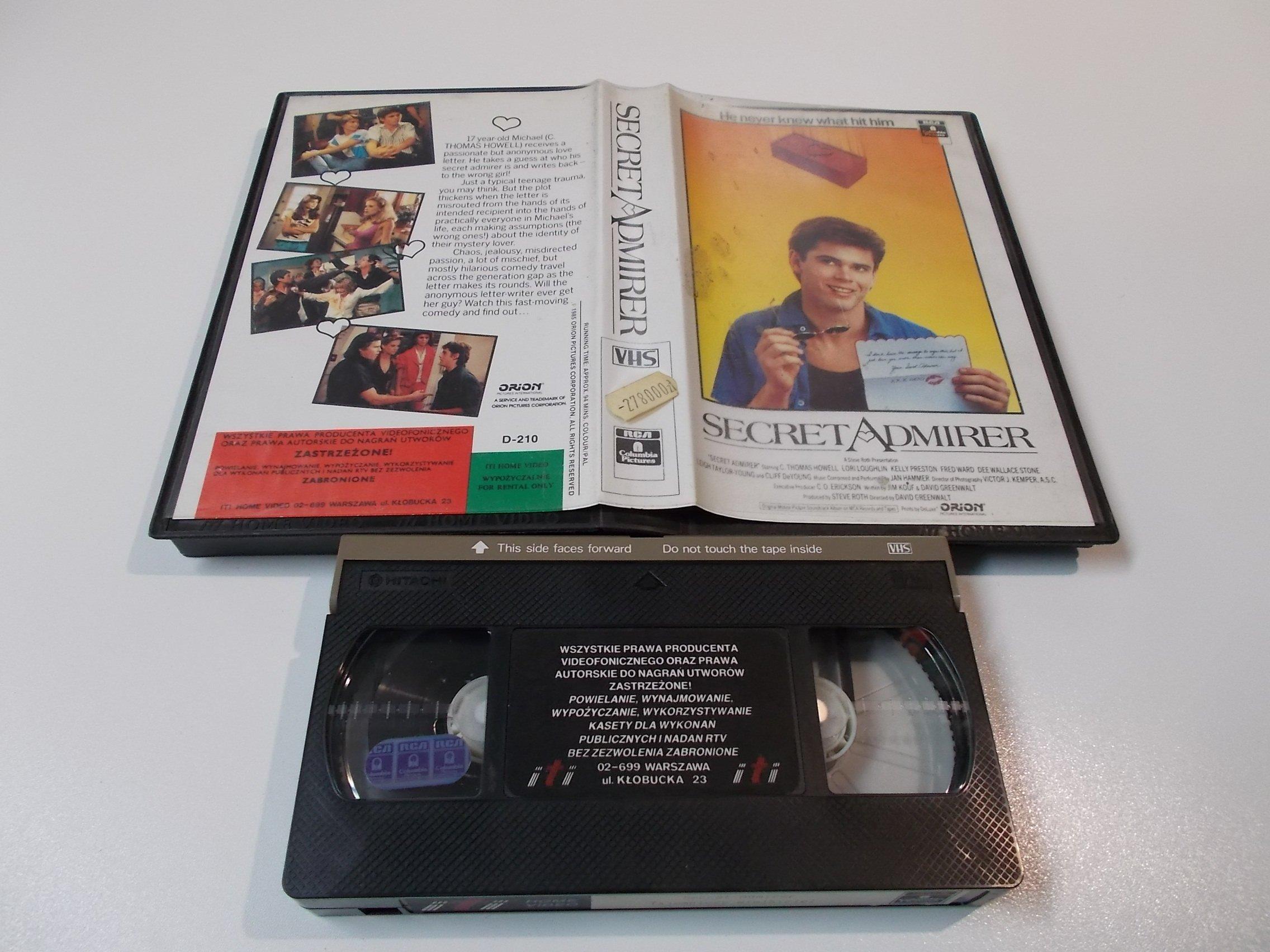 TAJEMNICYZ WIELBICIEL - kaseta Video VHS - 1429 Sklep
