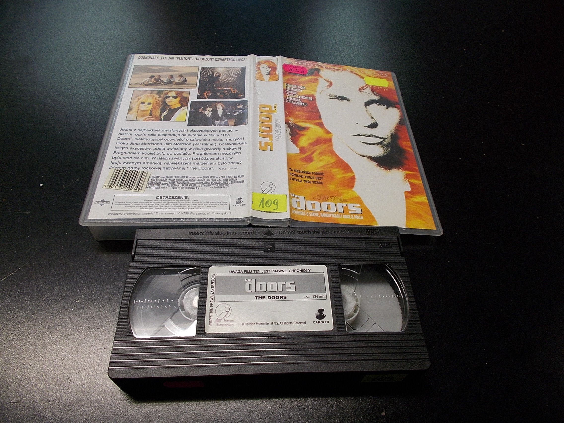THE DOORS -  kaseta VHS - 1234 Opole - AlleOpole.pl