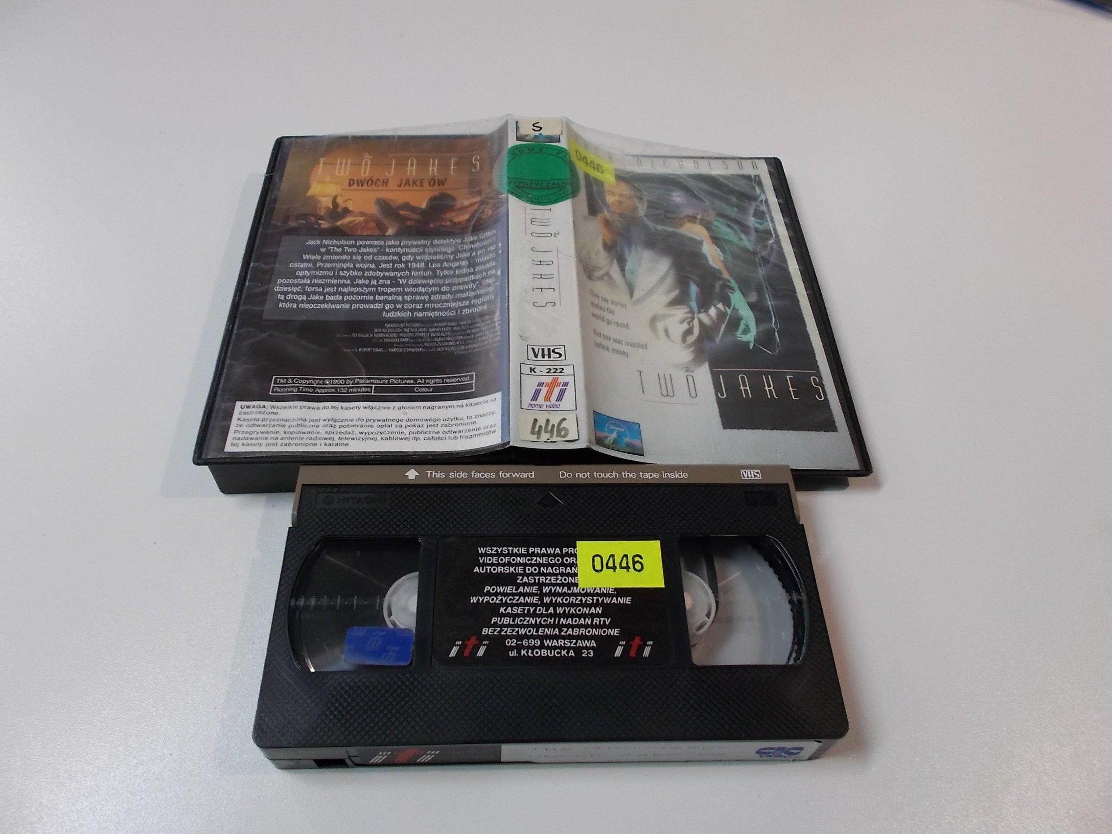 THE TWO JAKES - Kaseta Video VHS - Opole 1534