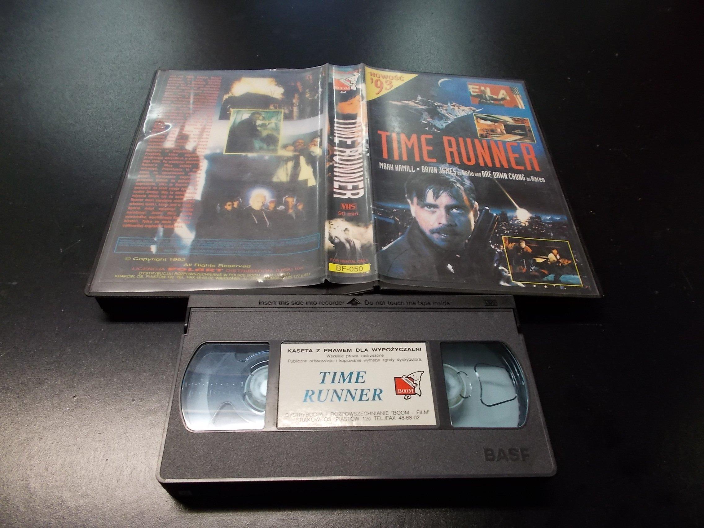 TIME RUNNER -  kaseta VHS - 1230 Opole - AlleOpole.pl