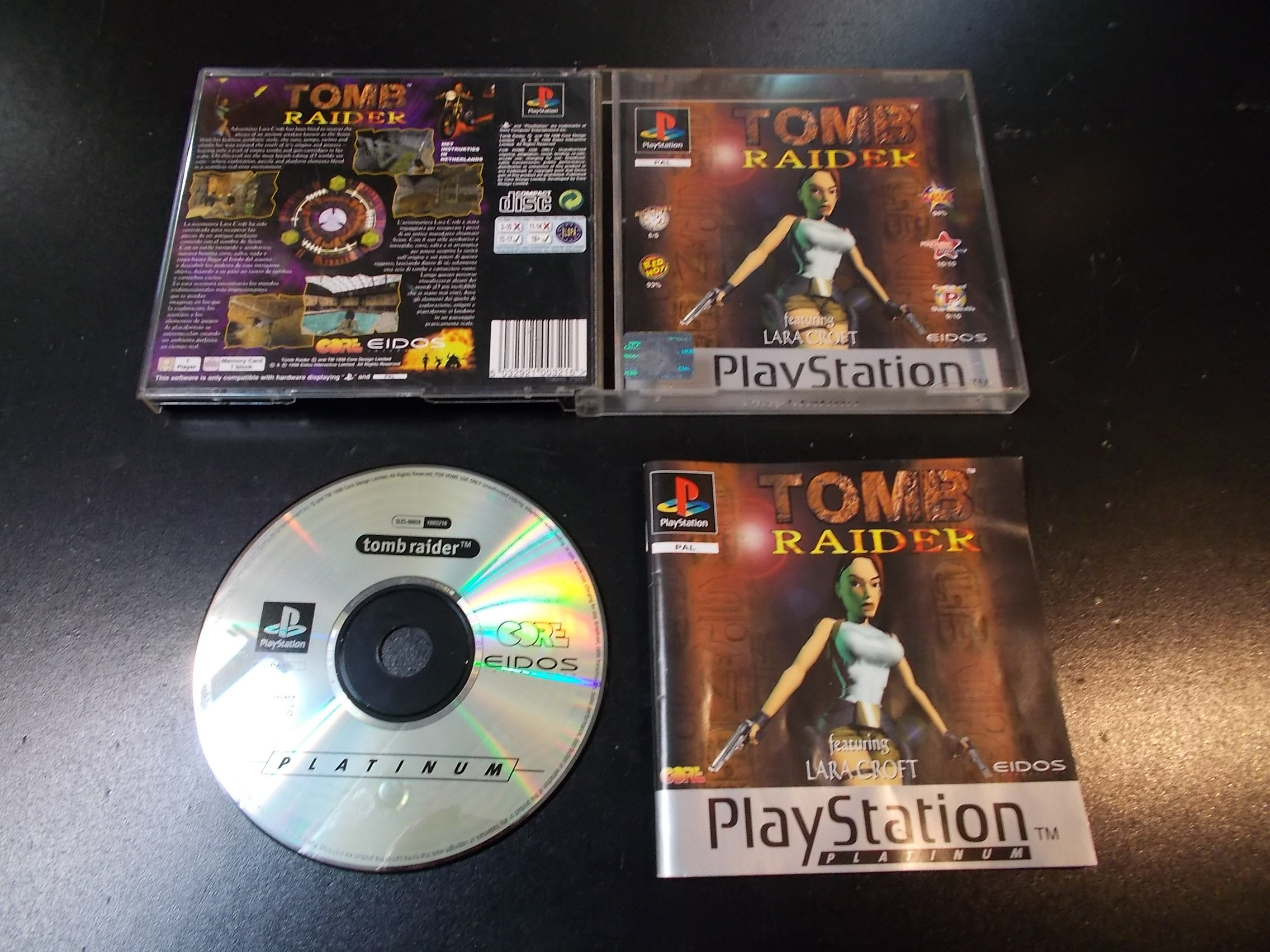 TOMB RAIDER - Lara Croft - GRA Psx Ps1 Sklep