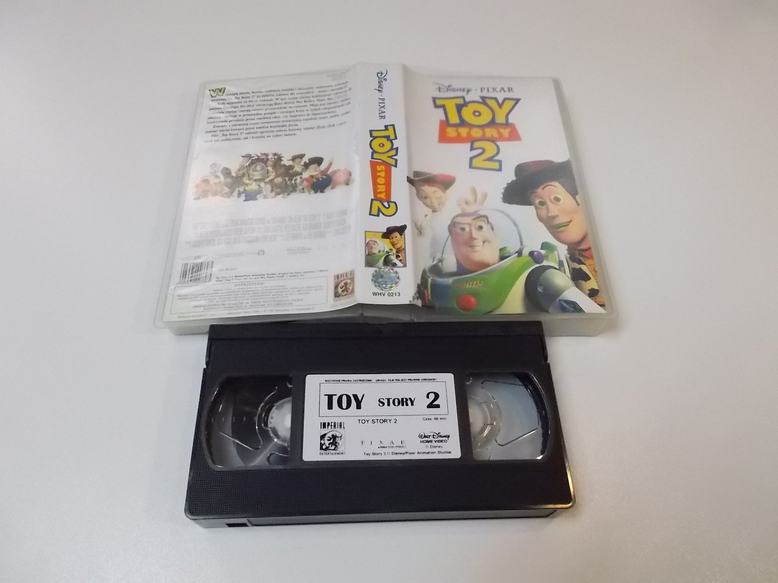 TOY STORY 2 - VHS Kaseta Video - Opole 1678