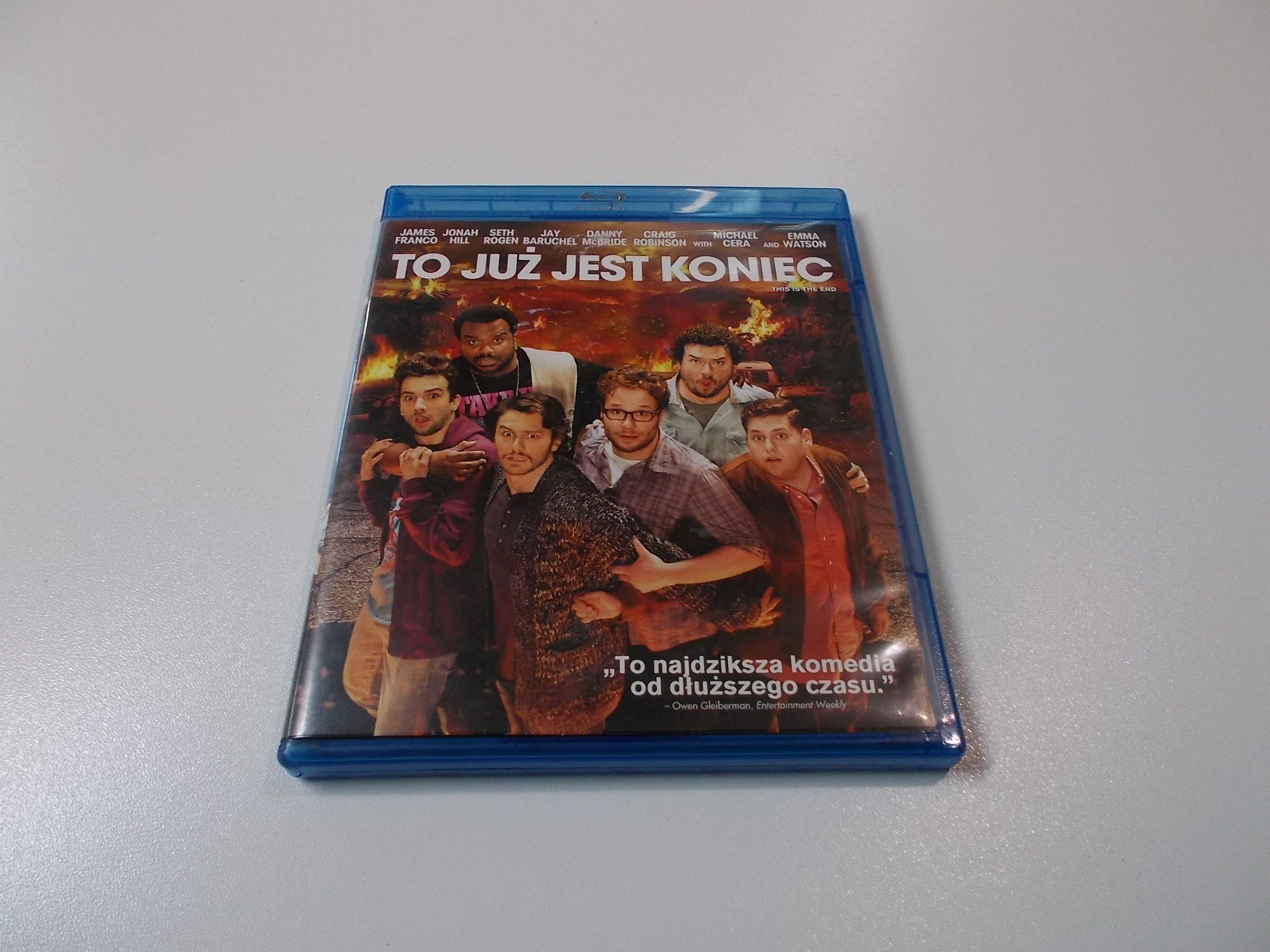 TO JUŻ JEST KONIEC - Płyta Blu-ray - Opole