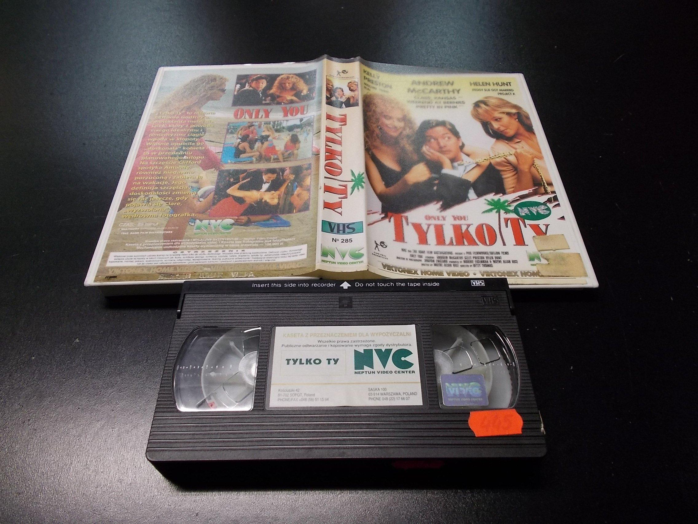 TYLKO TY -  kaseta VHS - 1174 Opole - AlleOpole.pl
