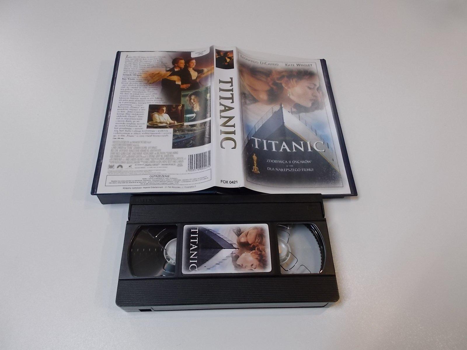 TYTANIC - VHS Kaseta Video - Opole 1688