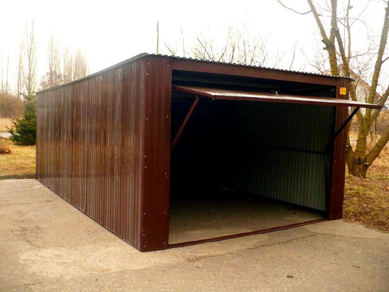 Tanie i solidne garaże blaszane solidstal