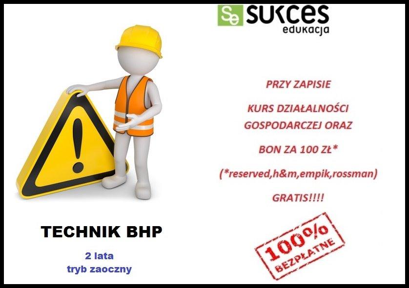Technik BHP ZA DARMO w SE Opole