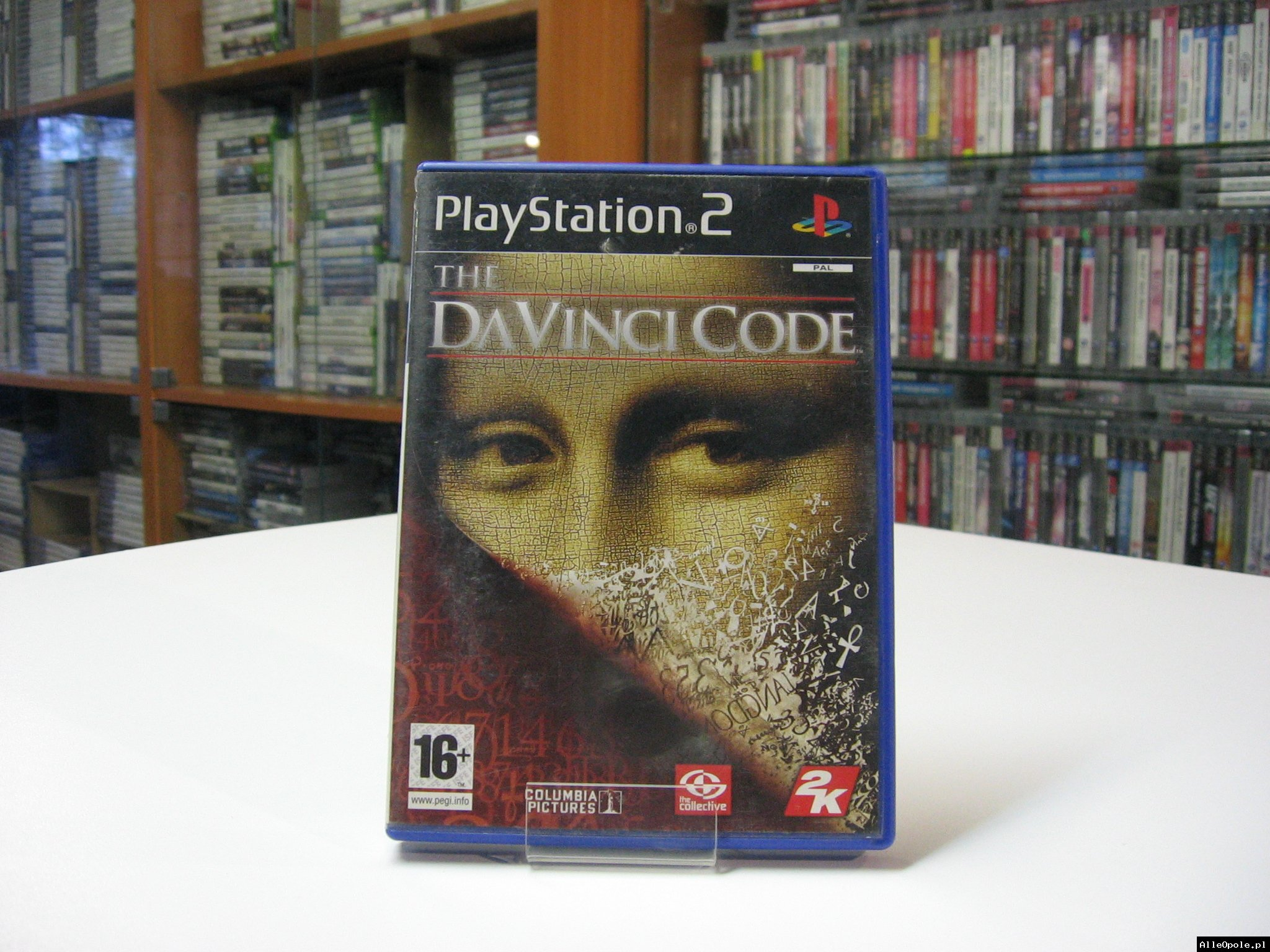 The Da Vinci Code - GRA Ps2 - Opole 0603