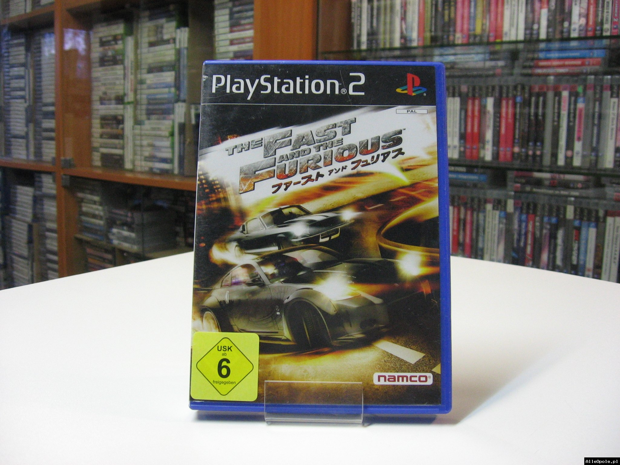 The Fast and the Furious - GRA Ps2 - Opole 0567