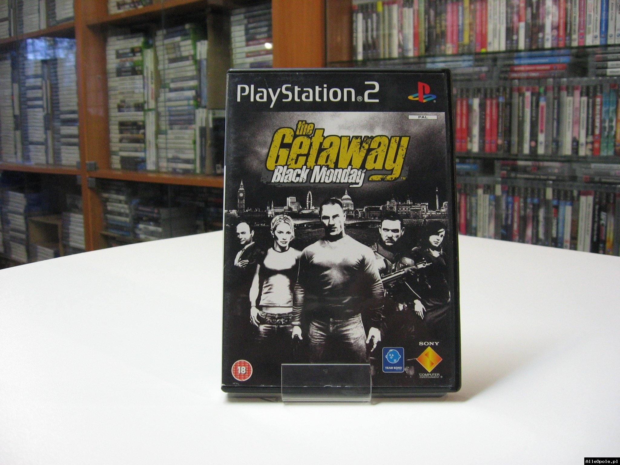 The Getaway: Black Monday - GRA Ps2 - Opole 0606