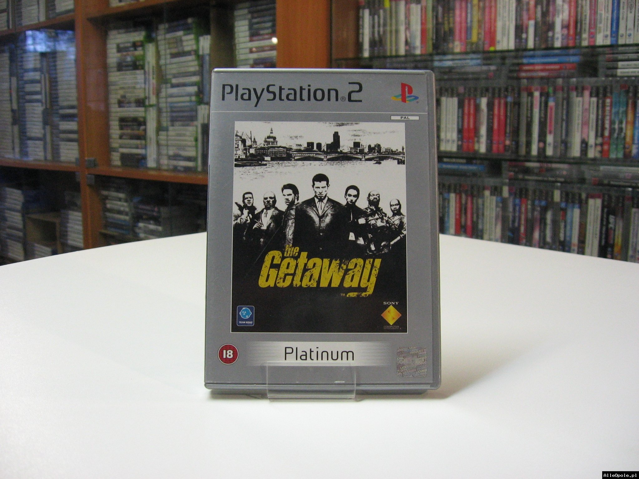 The Getaway - GRA Ps2 - Opole 0601