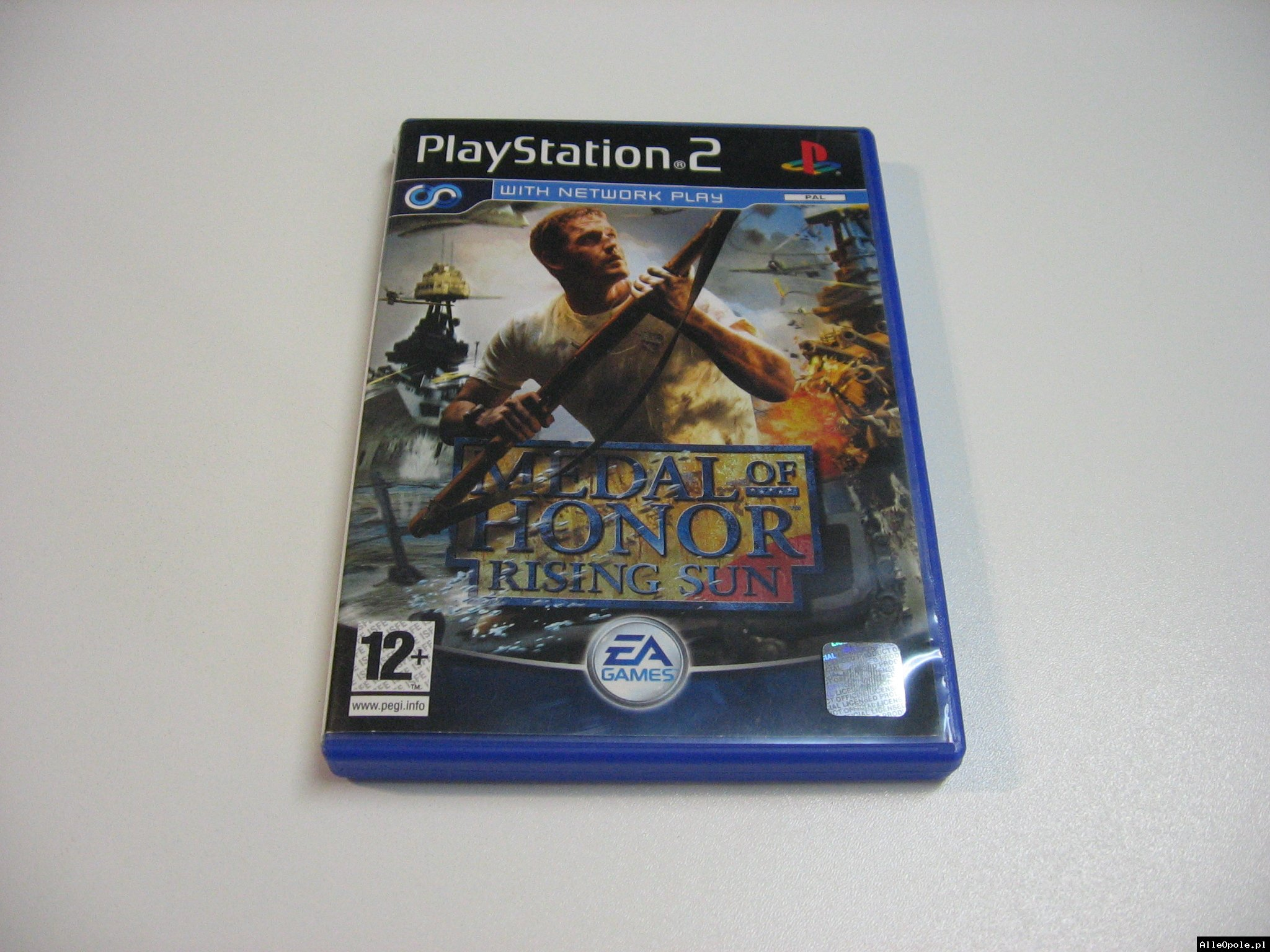Medal Of Honor Rising Sun - GRA Ps2 - Opole 0608