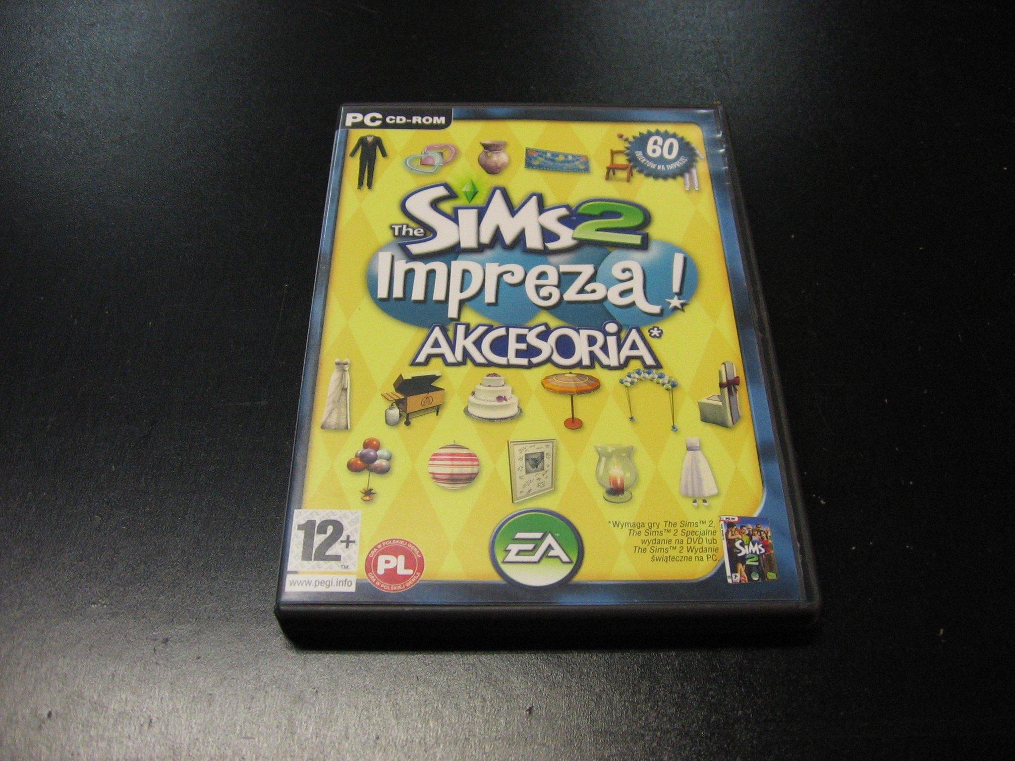 The Sims 2 Impreza Akcesoria PL - GRA PC 0128