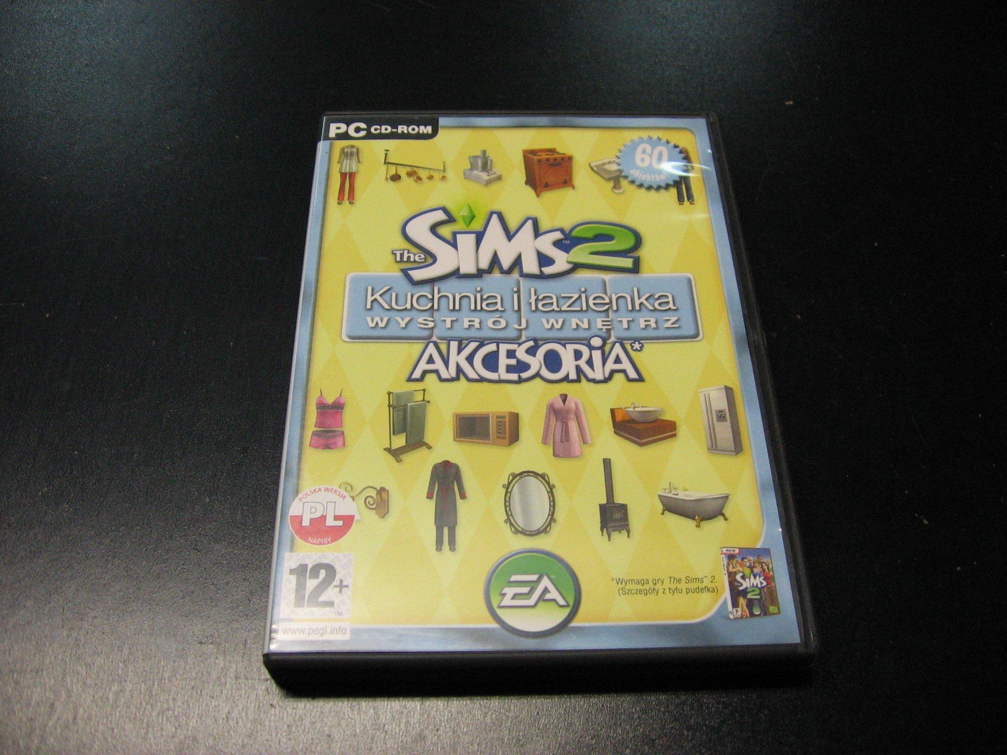 The Sims 2 Kuchania i łazienka. Wystrój wnętrz PL - GRA PC Sklep