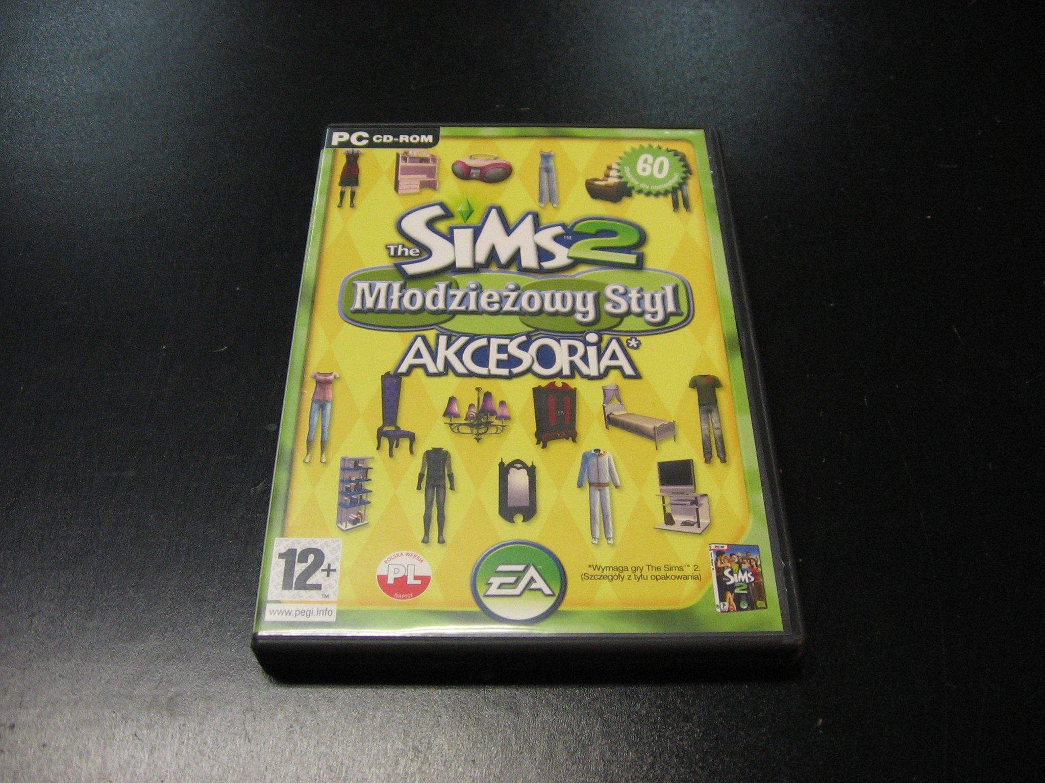The Sims 2 Młodzieżowy Styl akcesoria PL - GRA PC 0129