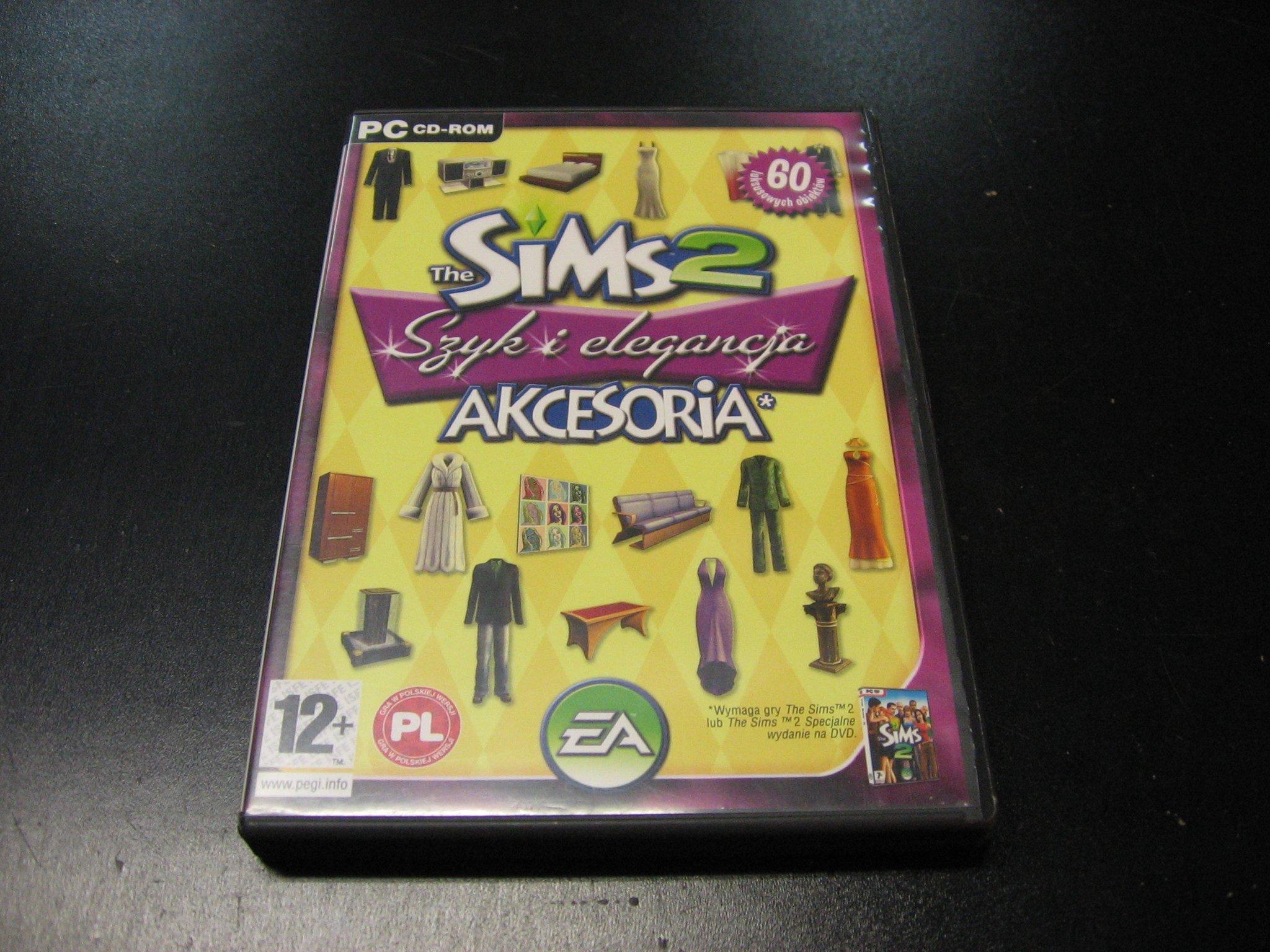The Sims 2 Szyk i Elegancja Akcesoria PL - GRA PC Sklep
