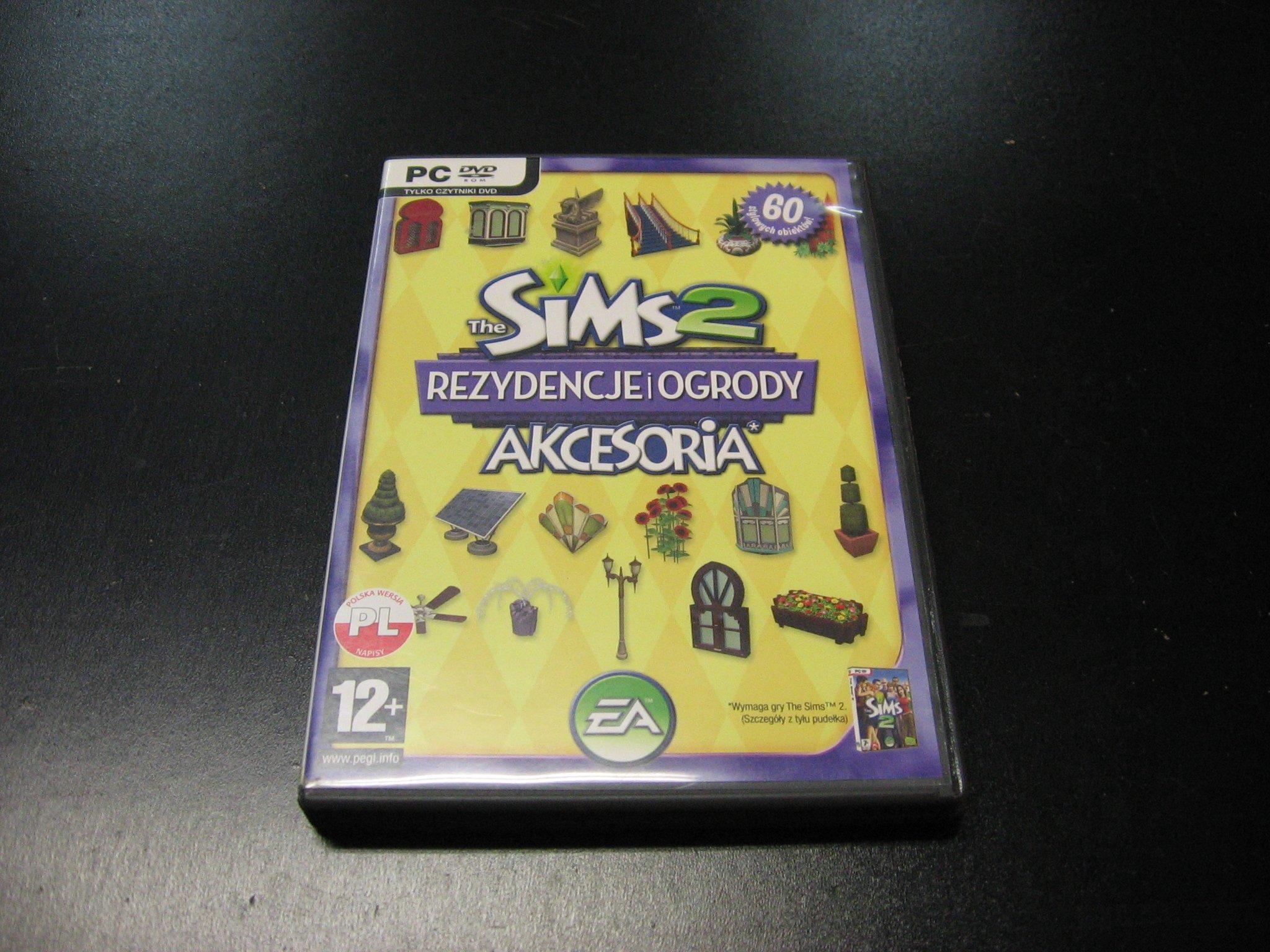 The Sims 2 dodatek Rezydencje i Ogrody PL - GRA PC 0126