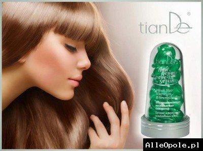 """Tiande Serum regenerujące """"Odżywienie i wzmocnienie osłabionych włosów"""" 15 szt"""