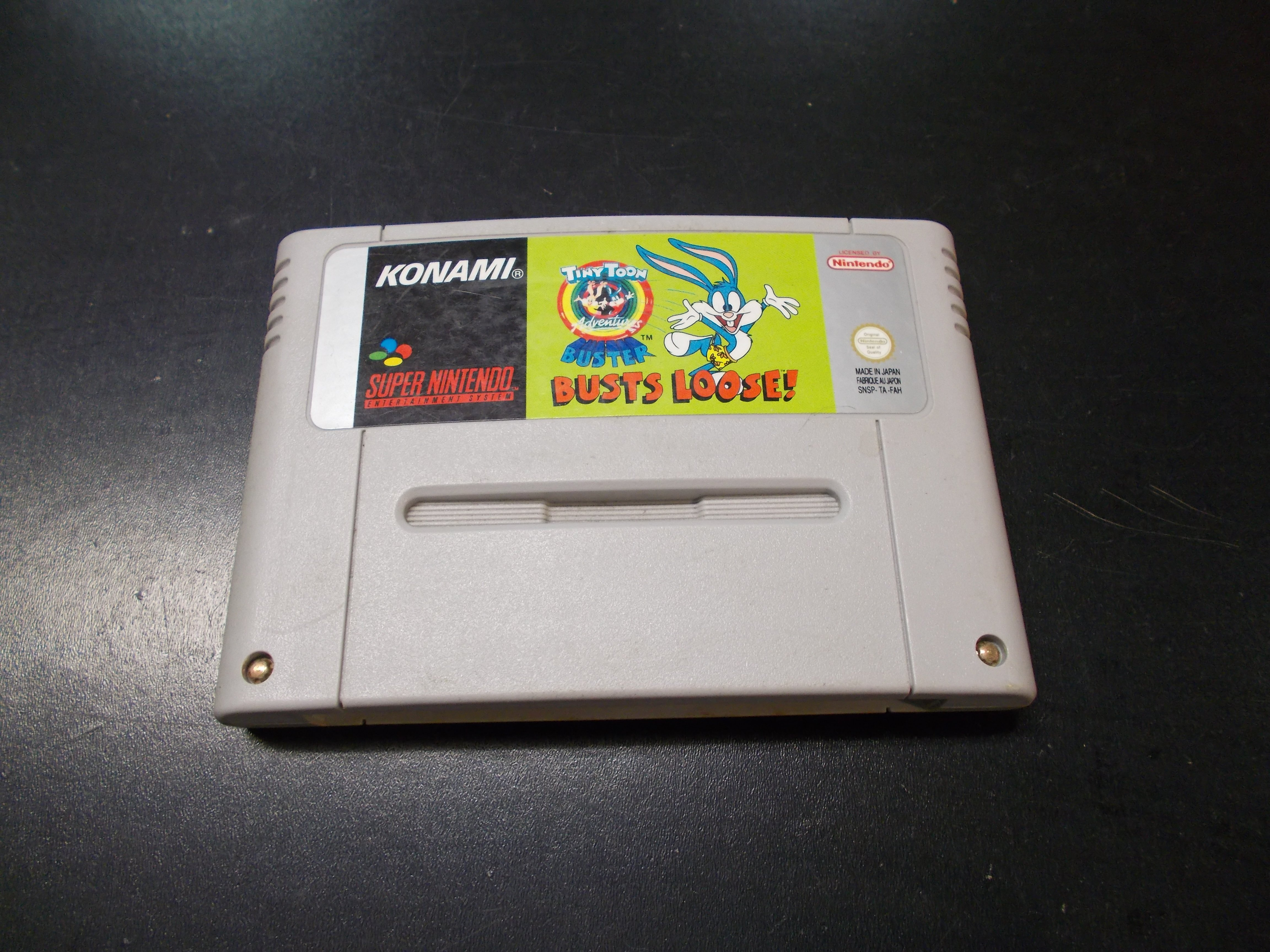 Tiny Toon Buster Busts Loose - GRA Nintendo SNES Opole 0148