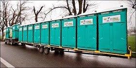Toalety przenośne, kontenery, ogrodzenia