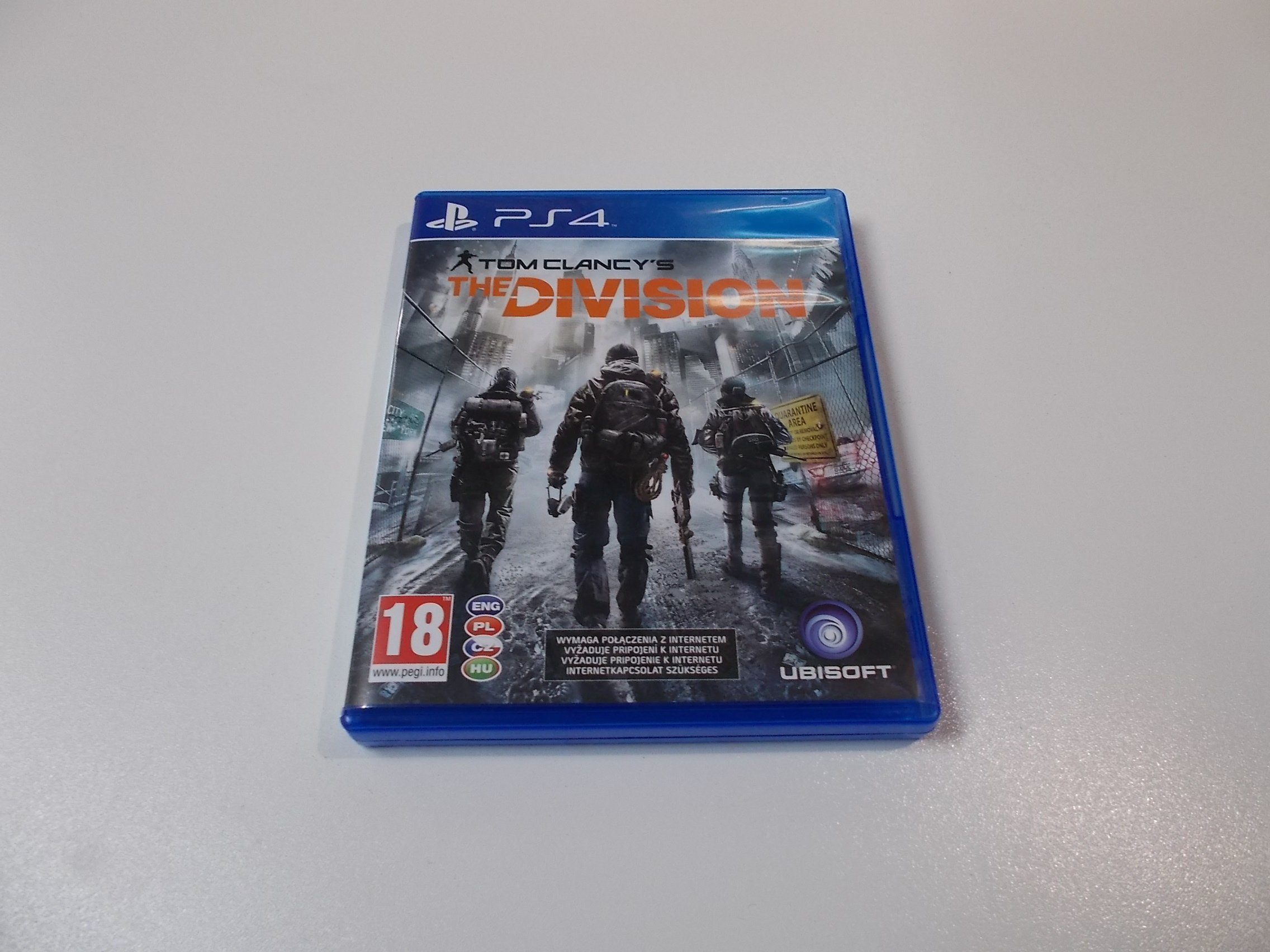 Tom Clancy's The Division - GRA Ps4 - Opole 0430