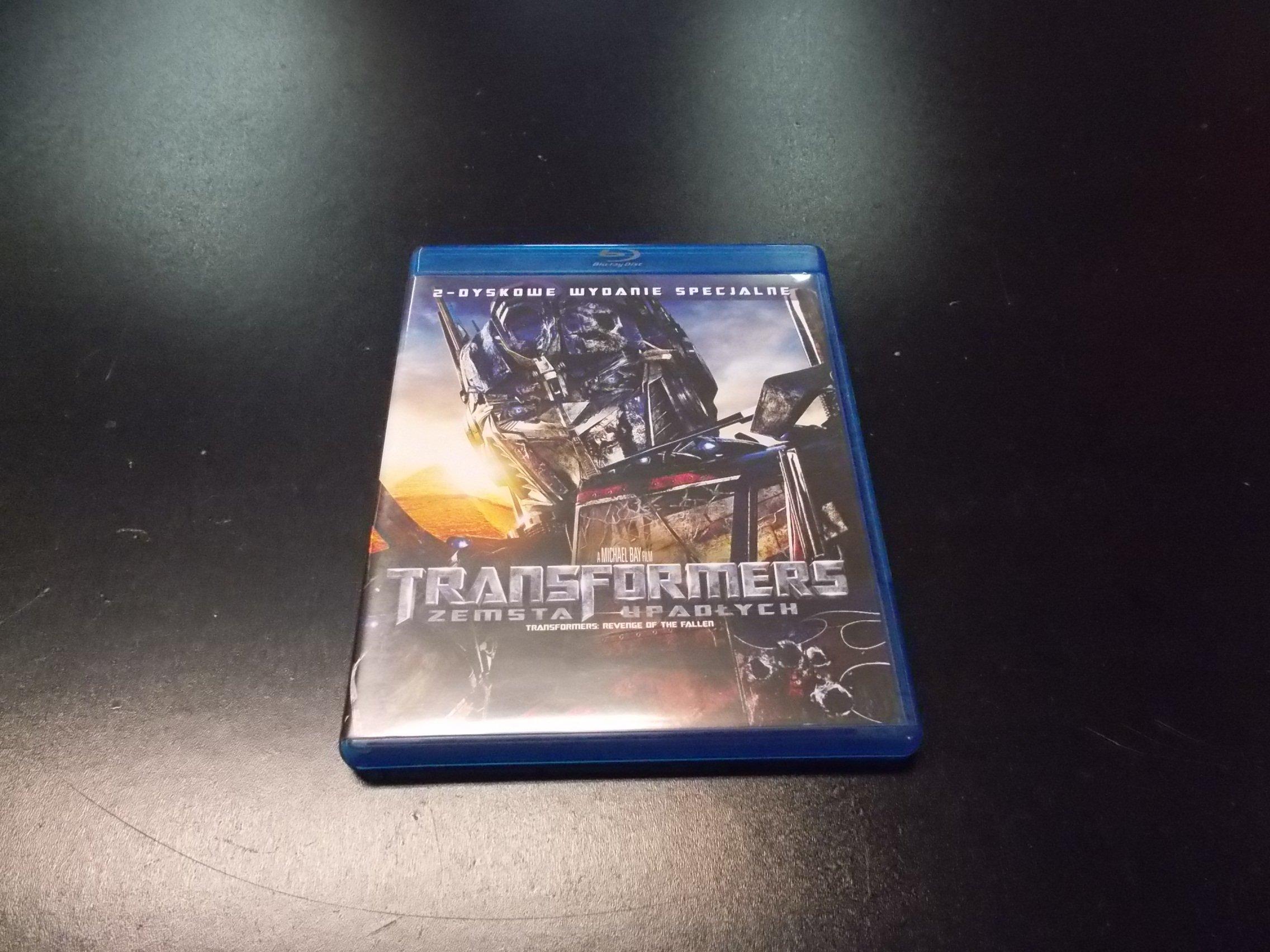Transformers 2: ZEMSTA UPADŁYCH PL - Blu-ray - Sklep