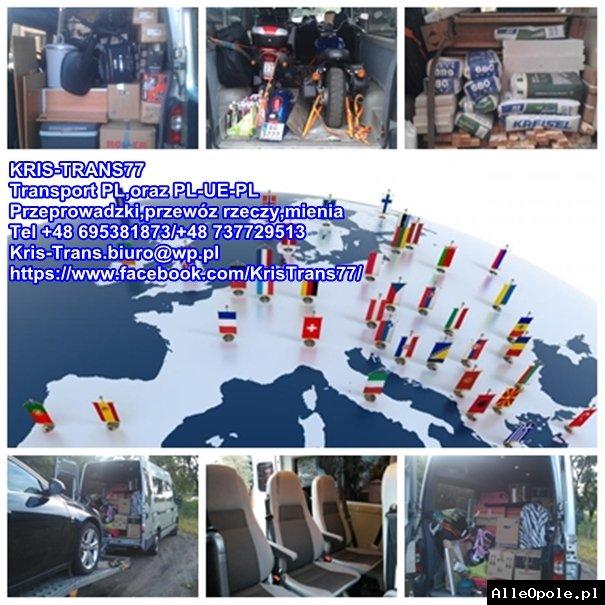 Transport,przeprowadzki,przewóz rzeczy PL-UE-PL