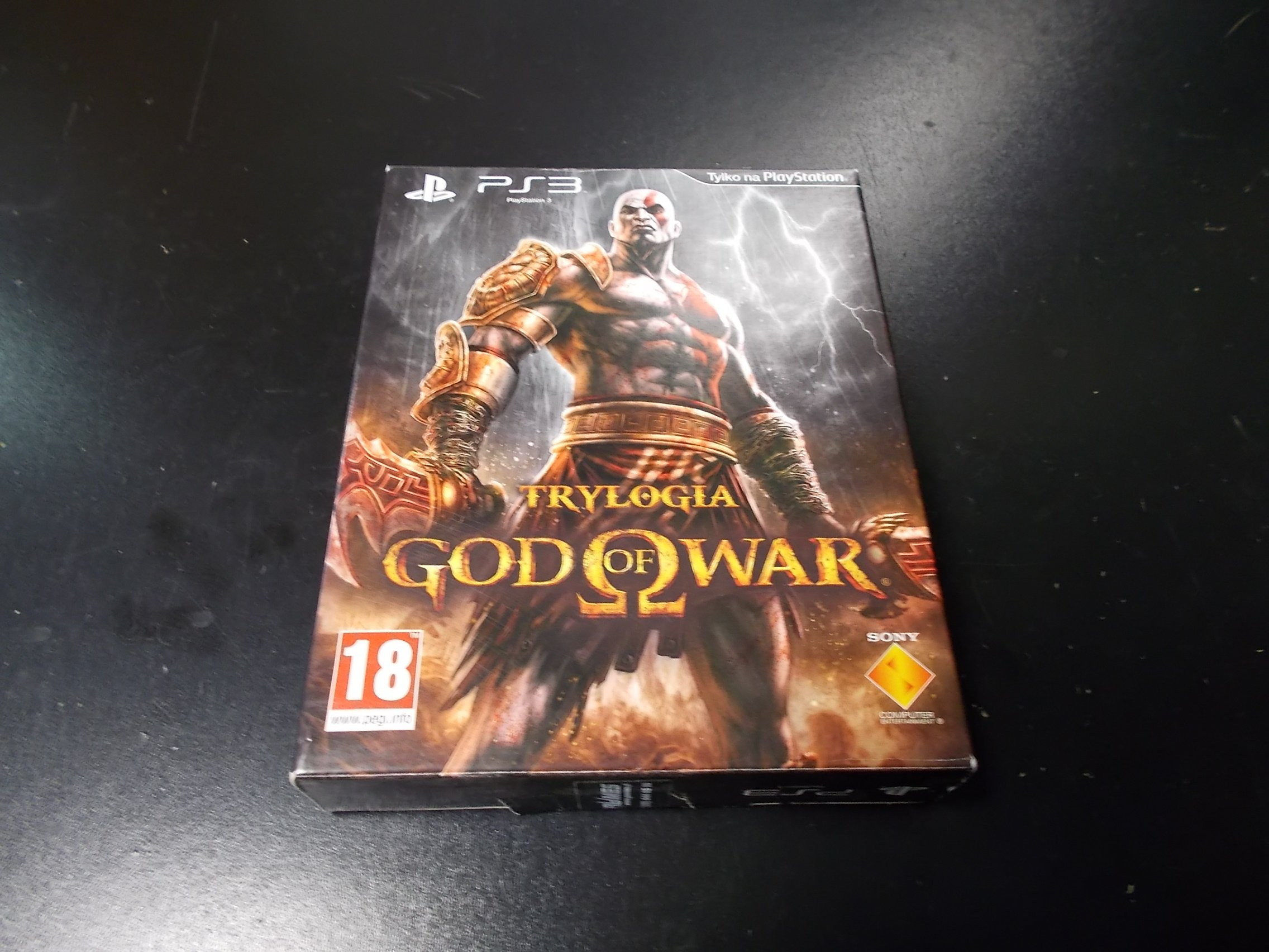Trylogia God of War - GRA Ps3 Sklep