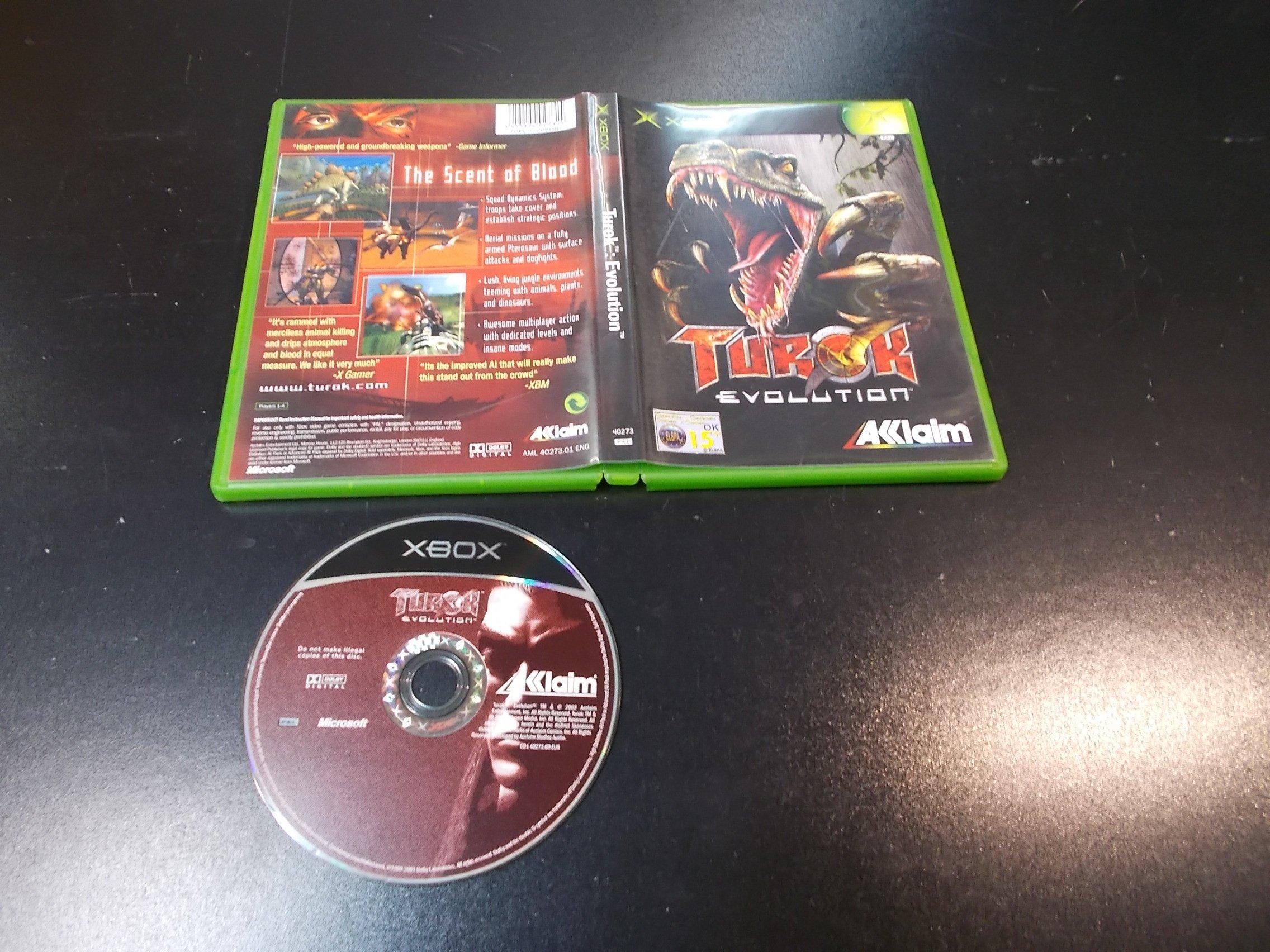 Turok Evolution - GRA Xbox Classic Sklep