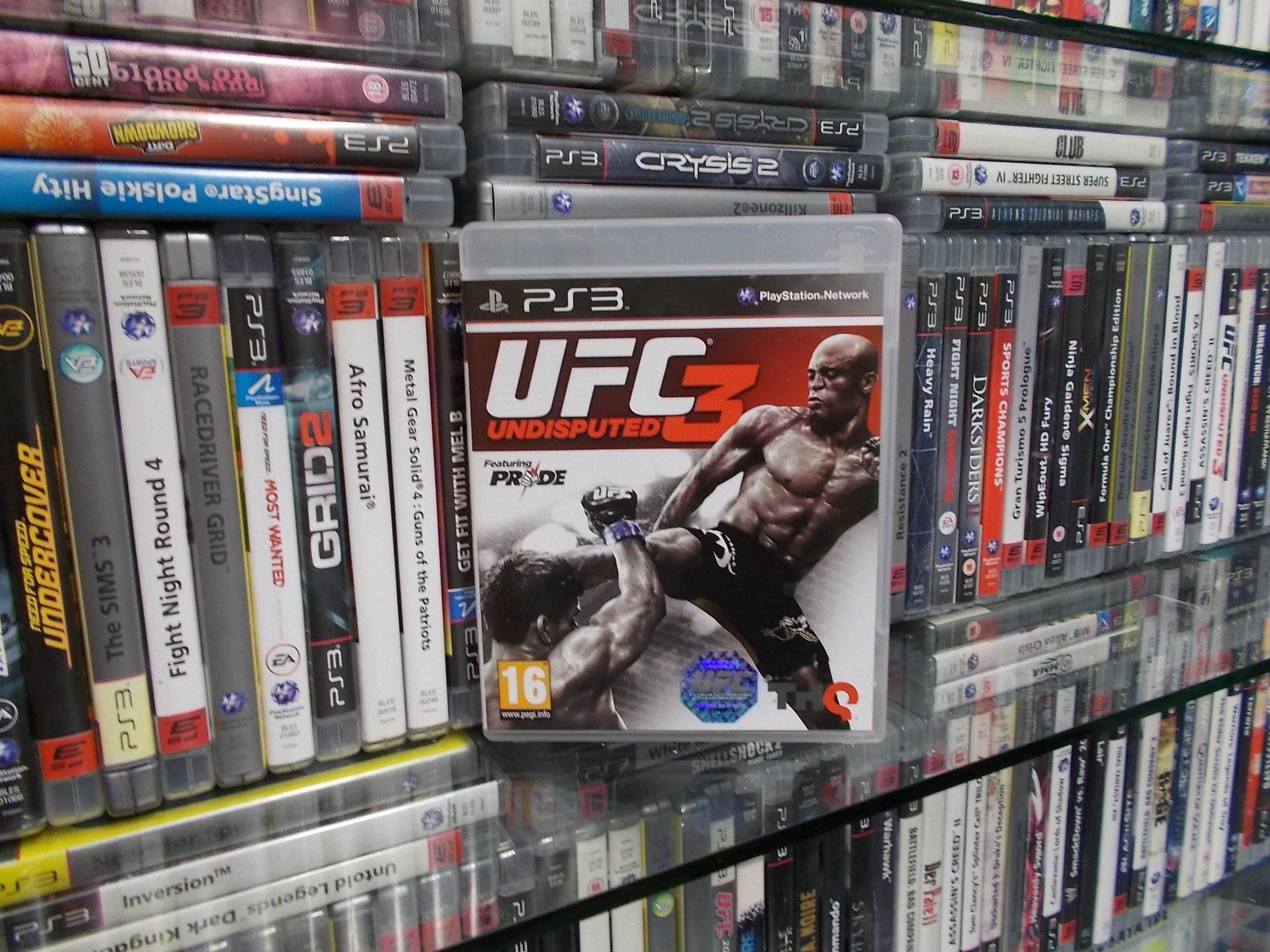 UFC 3 Undisputed - GRA PS3 - Sklep