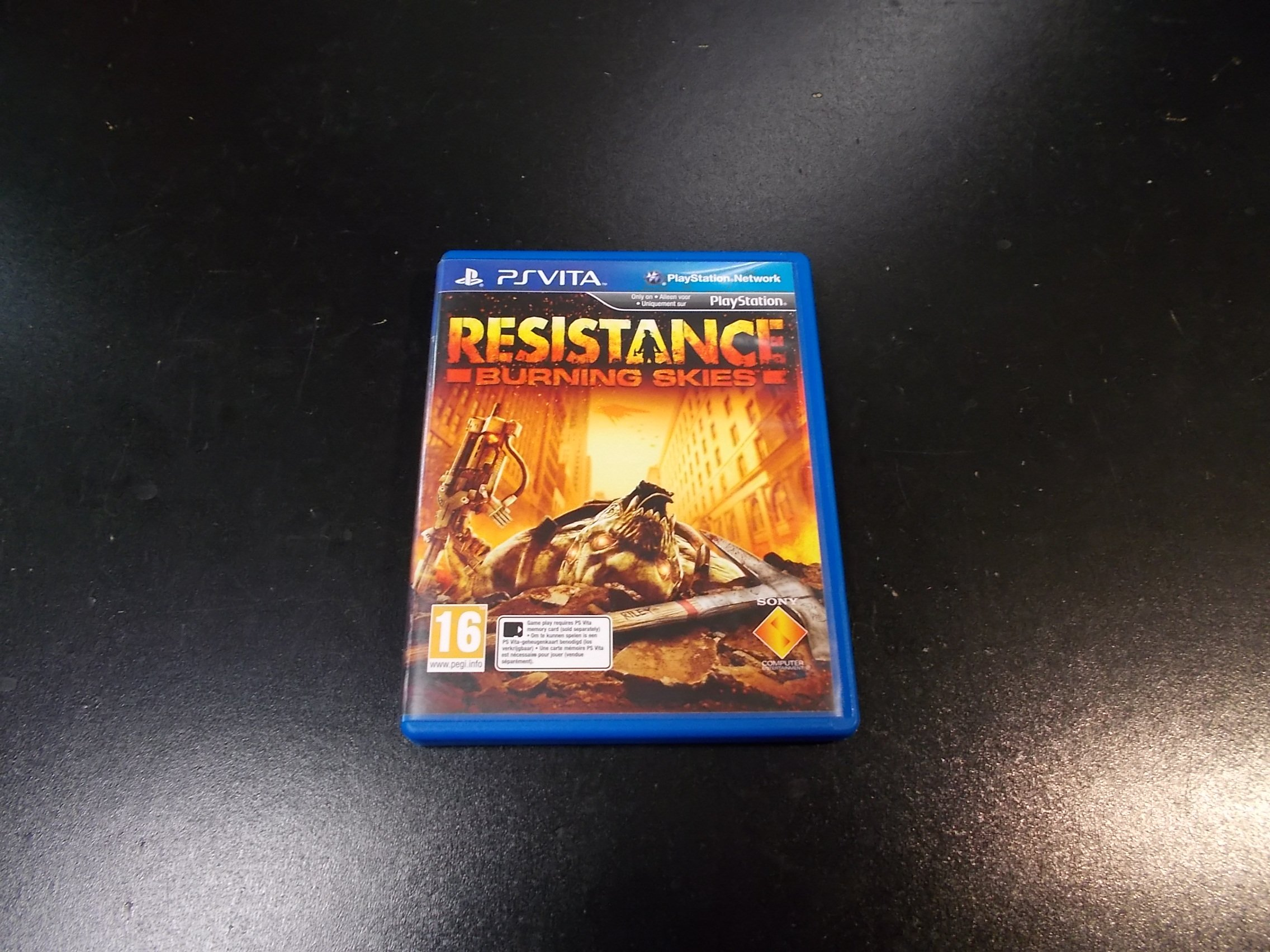 Resistance Burning Skies - GRA Ps Vita Sklep