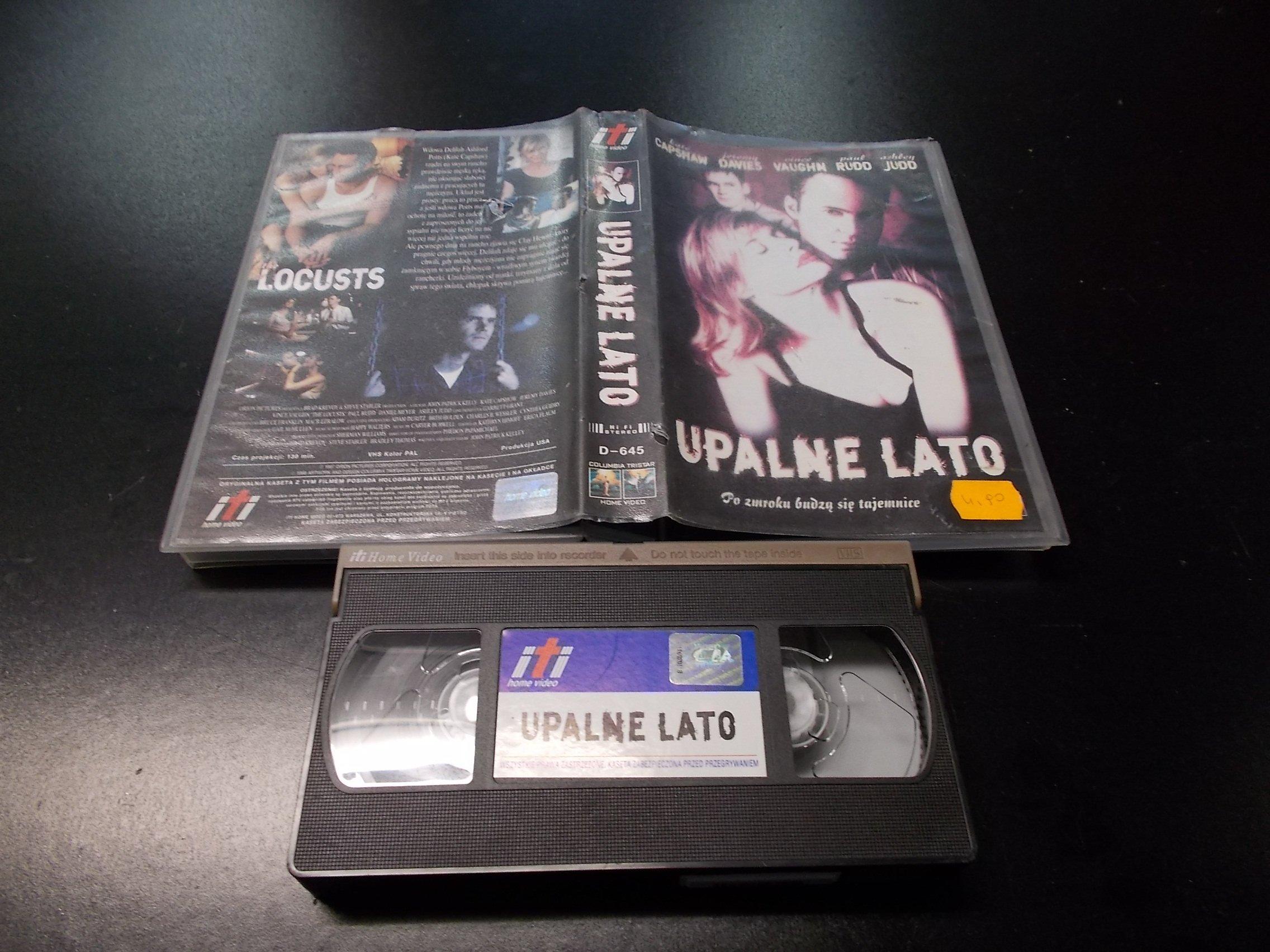UPALNE LATO -  kaseta VHS - 1229 Opole - AlleOpole.pl