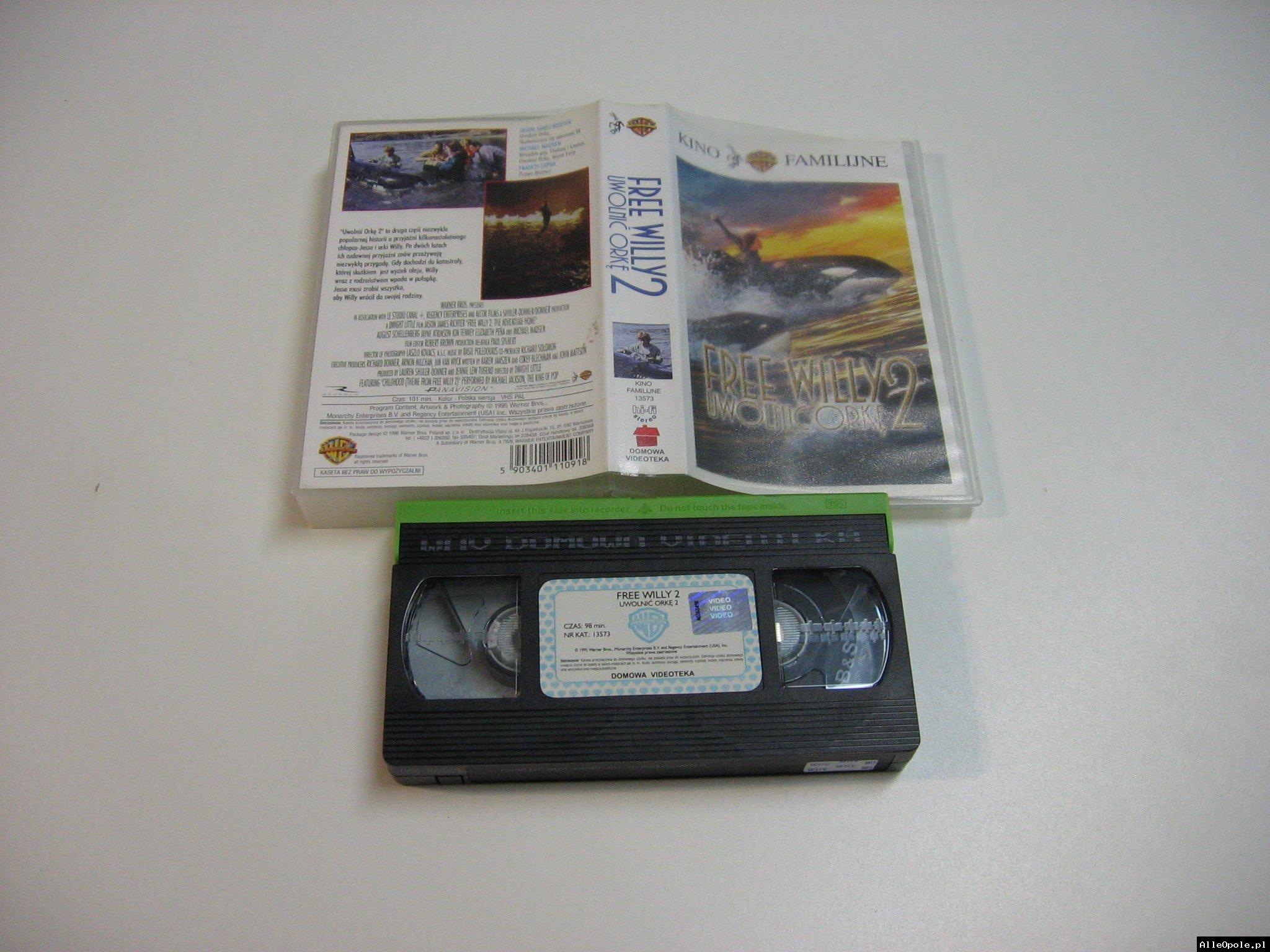 UWOLNIĆ ORKĘ 2 - VHS Kaseta Video - Opole 1792