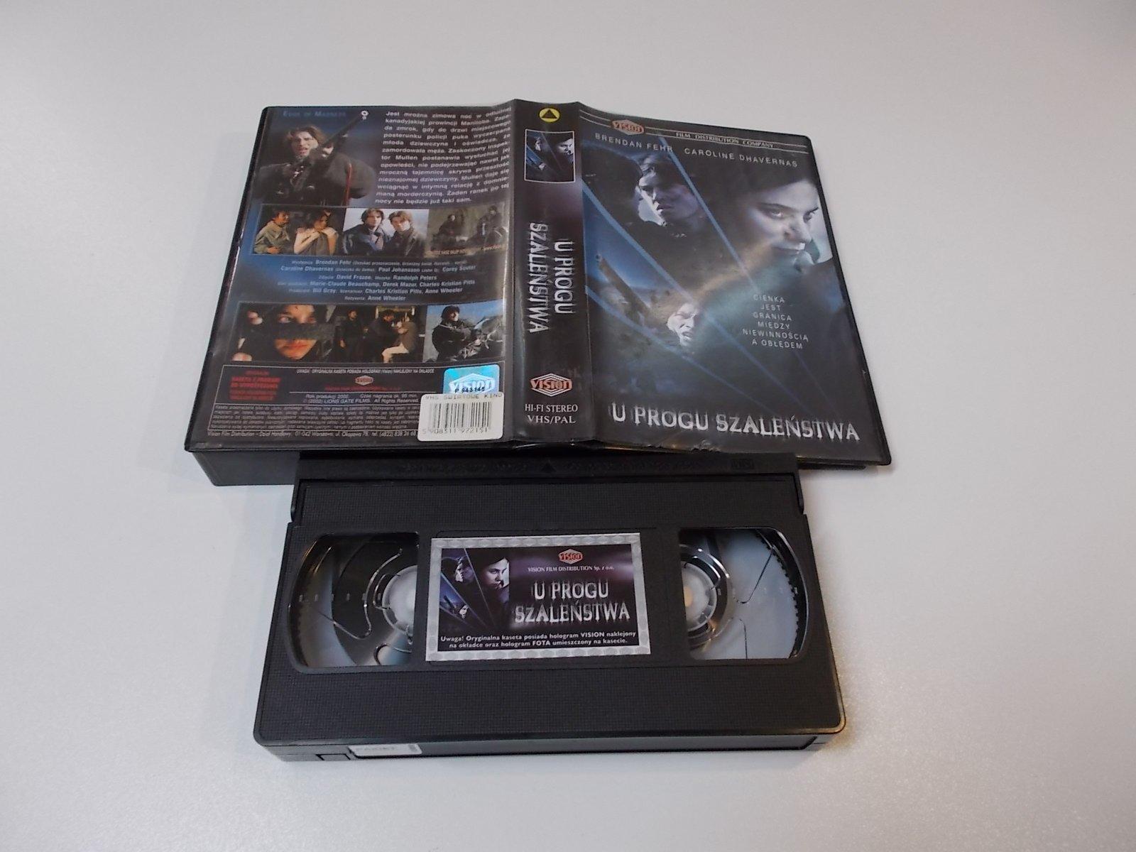 U PROGU SZALEŃSTWA - VHS Kaseta Video - Opole 1691