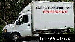 Usługi transportowe,przeprowadzki już od 70 zł