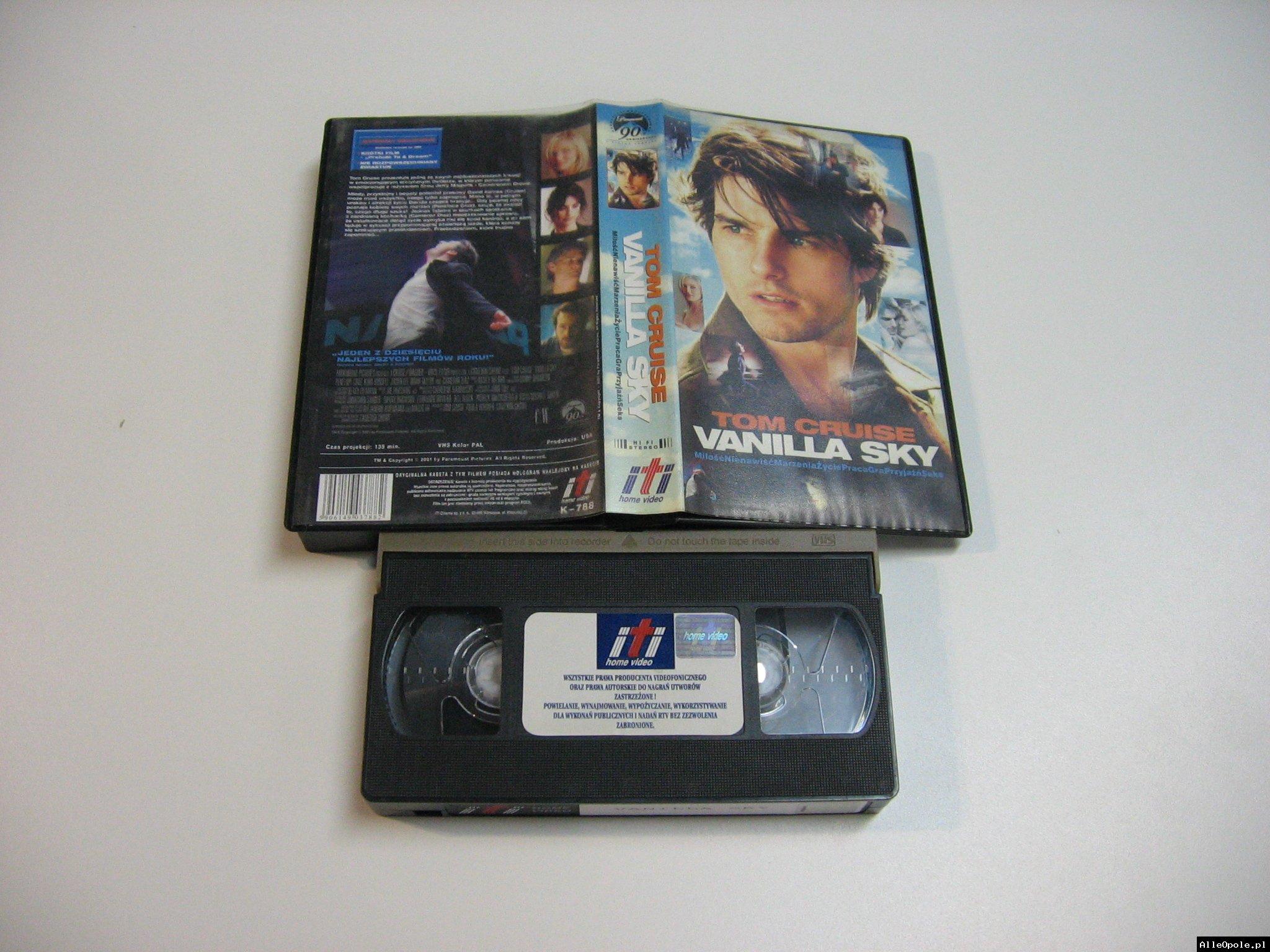 VANILLA SKY - VHS Kaseta Video - Opole 1786