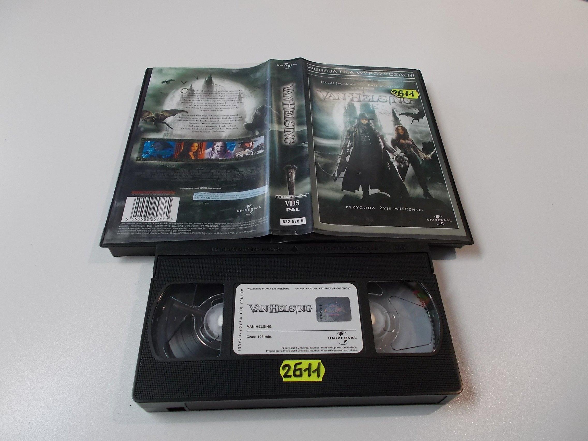 VAN HELSING - Kaseta Video VHS - Opole 1565