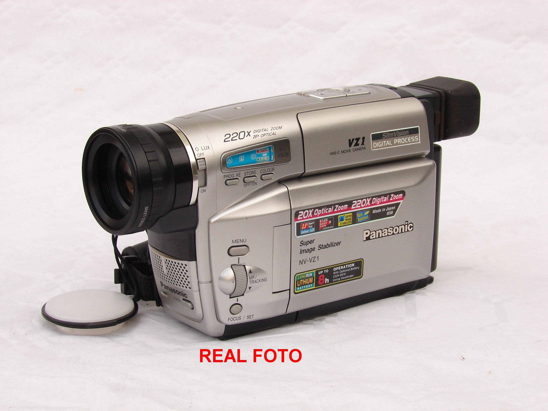 VHS-C Panasonic NV-VZ1 zestaw - nocne nagrywanie