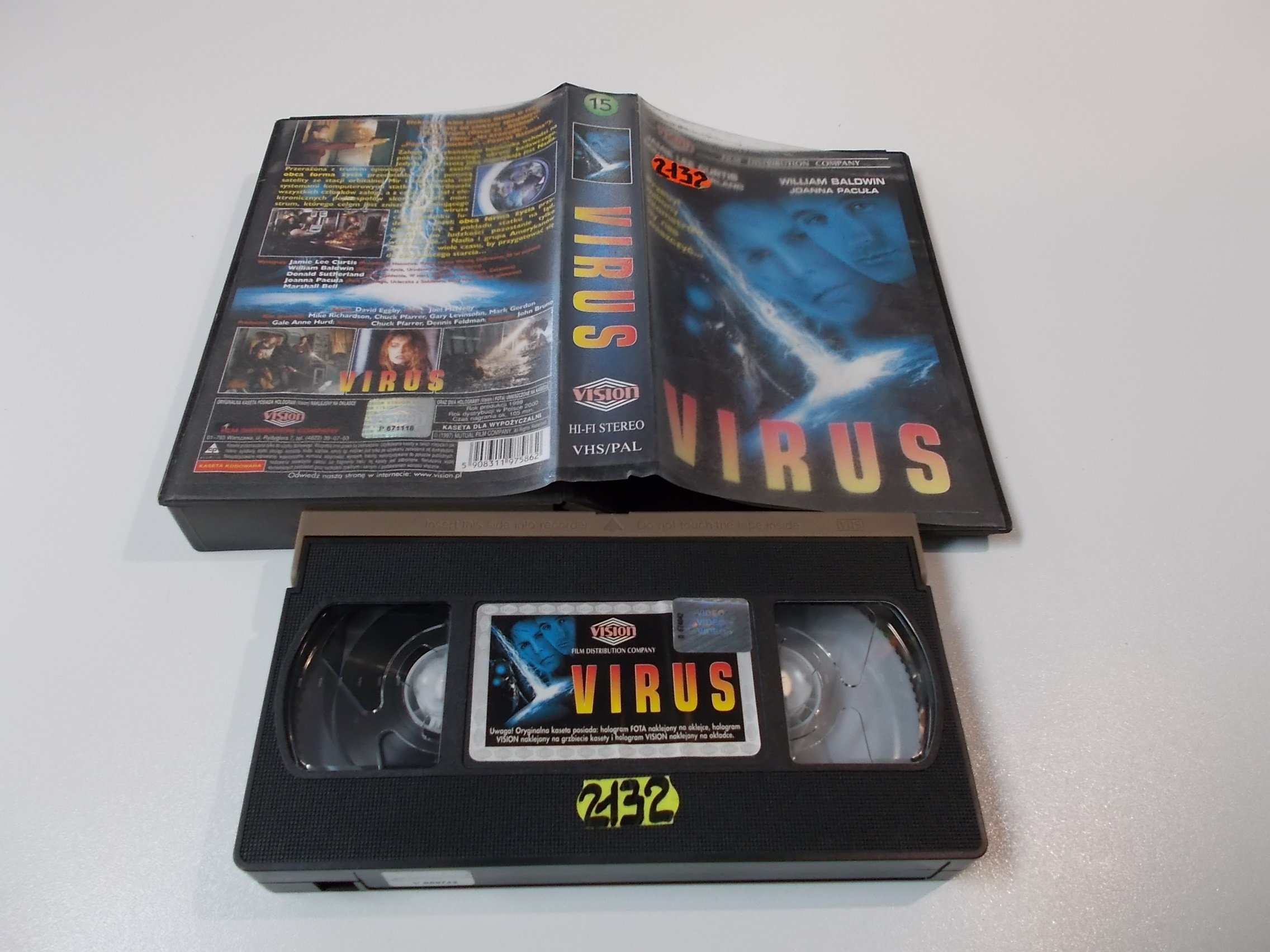 VIRUS - VHS Kaseta Video - Opole 1589