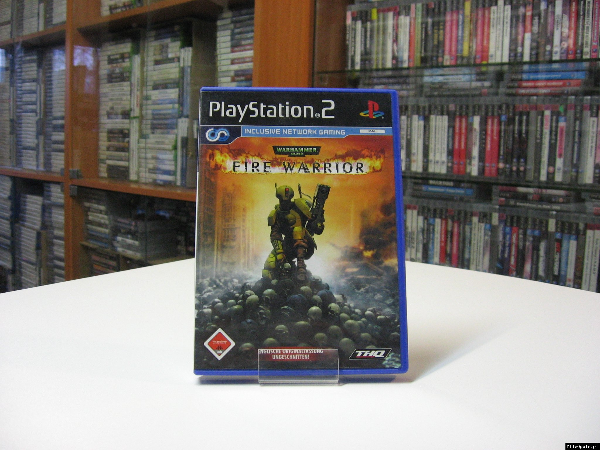 WARHAMMER 40000 FIRE WARRIOR - GRA Ps2 - Opole 0558