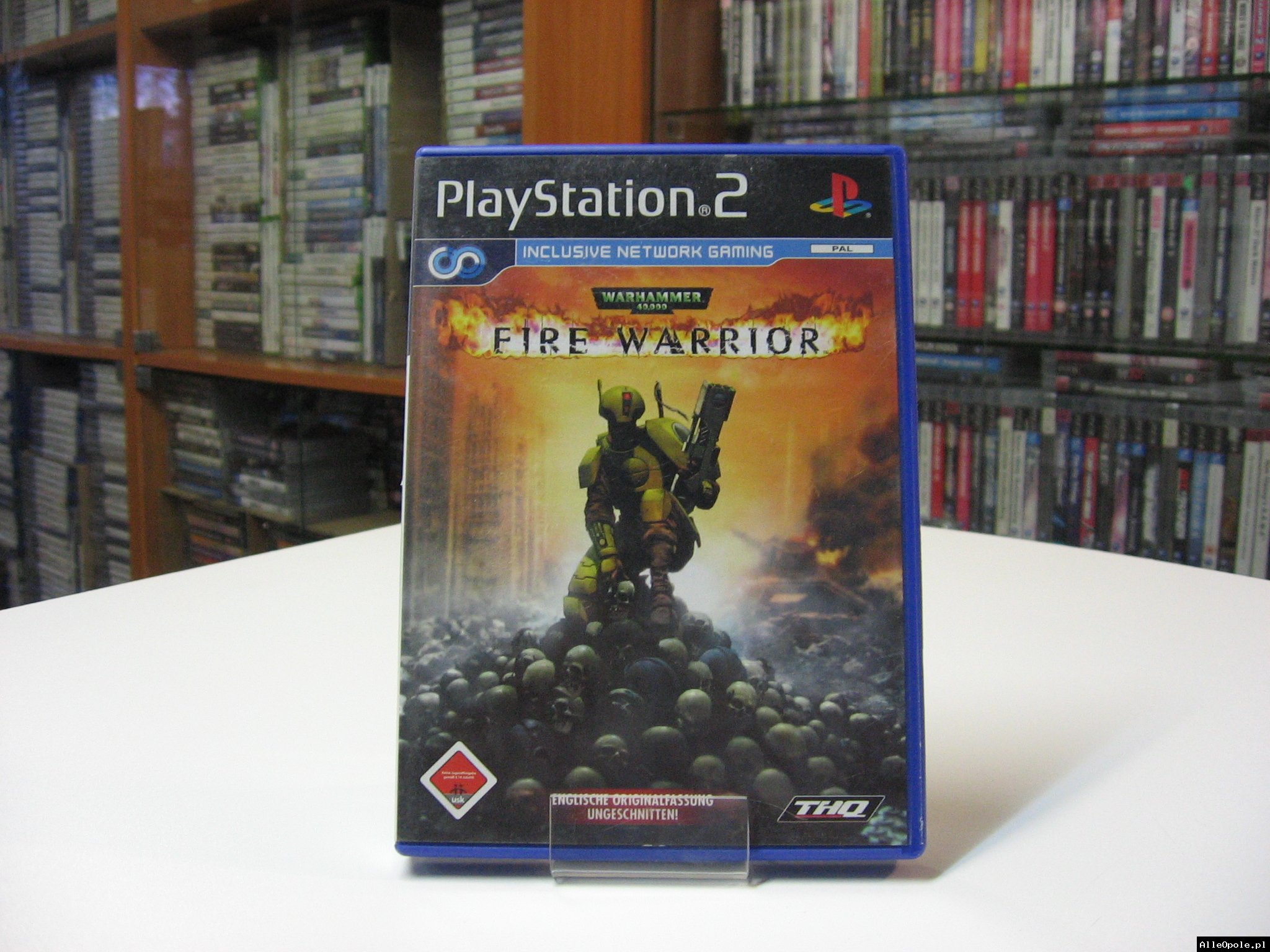 WARHAMMER 40000 FIRE WARRIOR - GRA Ps2 - Opole 0571