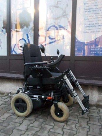 Wózek elektryczny inwalidzki z